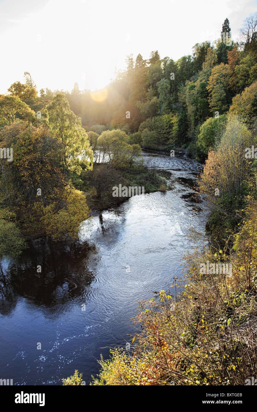 Scenic Scottish landscape. - Stock Image