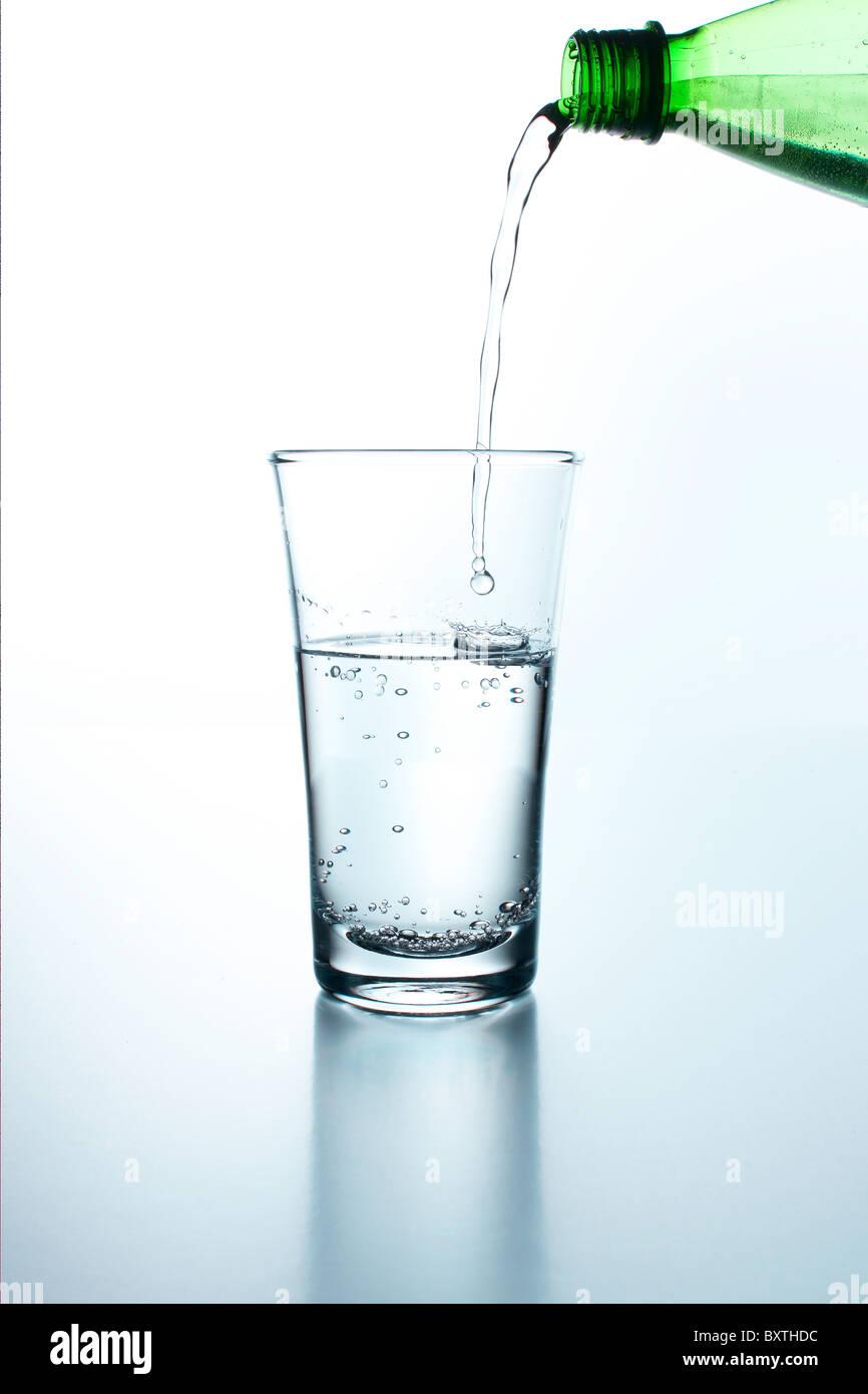 water poring - Stock Image