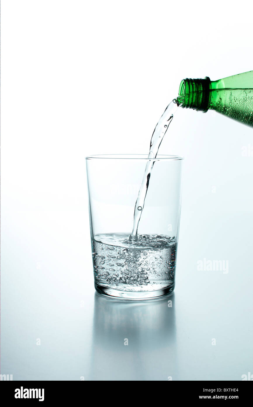 water pouring - Stock Image