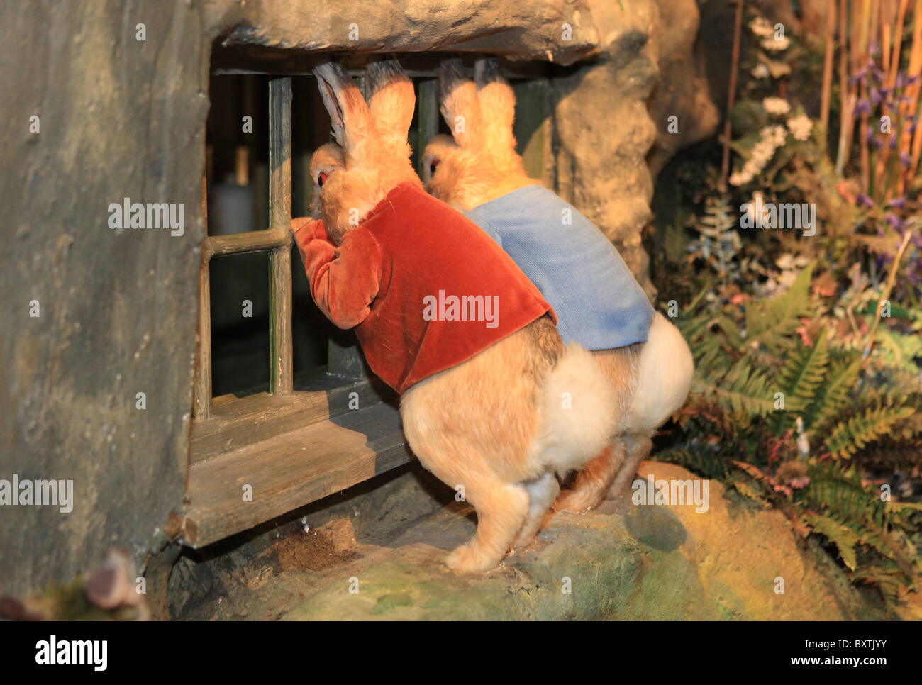 Cumbria, Bowness-on-windermere, The World Of Beatrix Potter Attraction - Stock Image