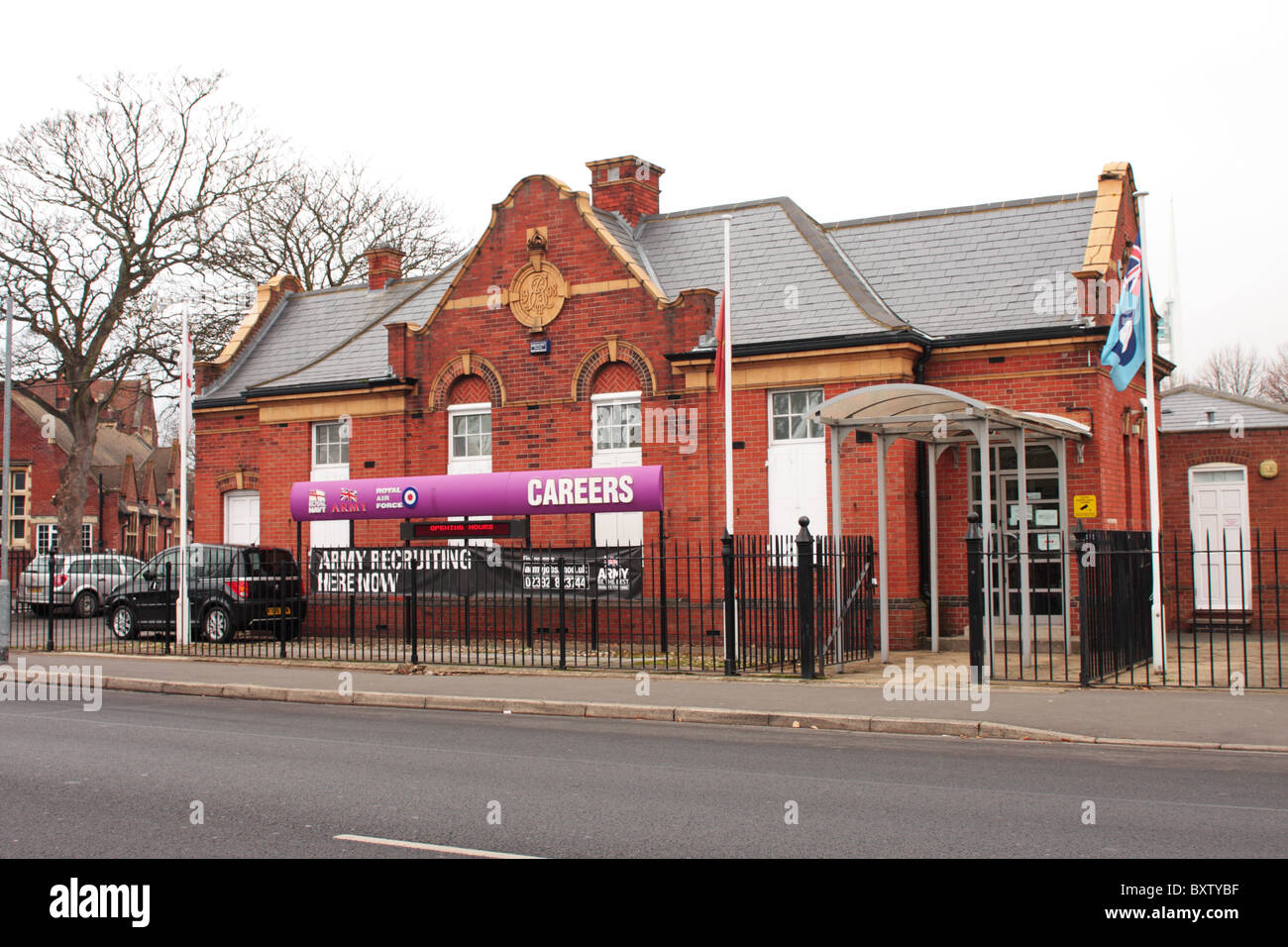 Army Royal Navy and RAF Careers Office Portsmouth UK Stock Photo