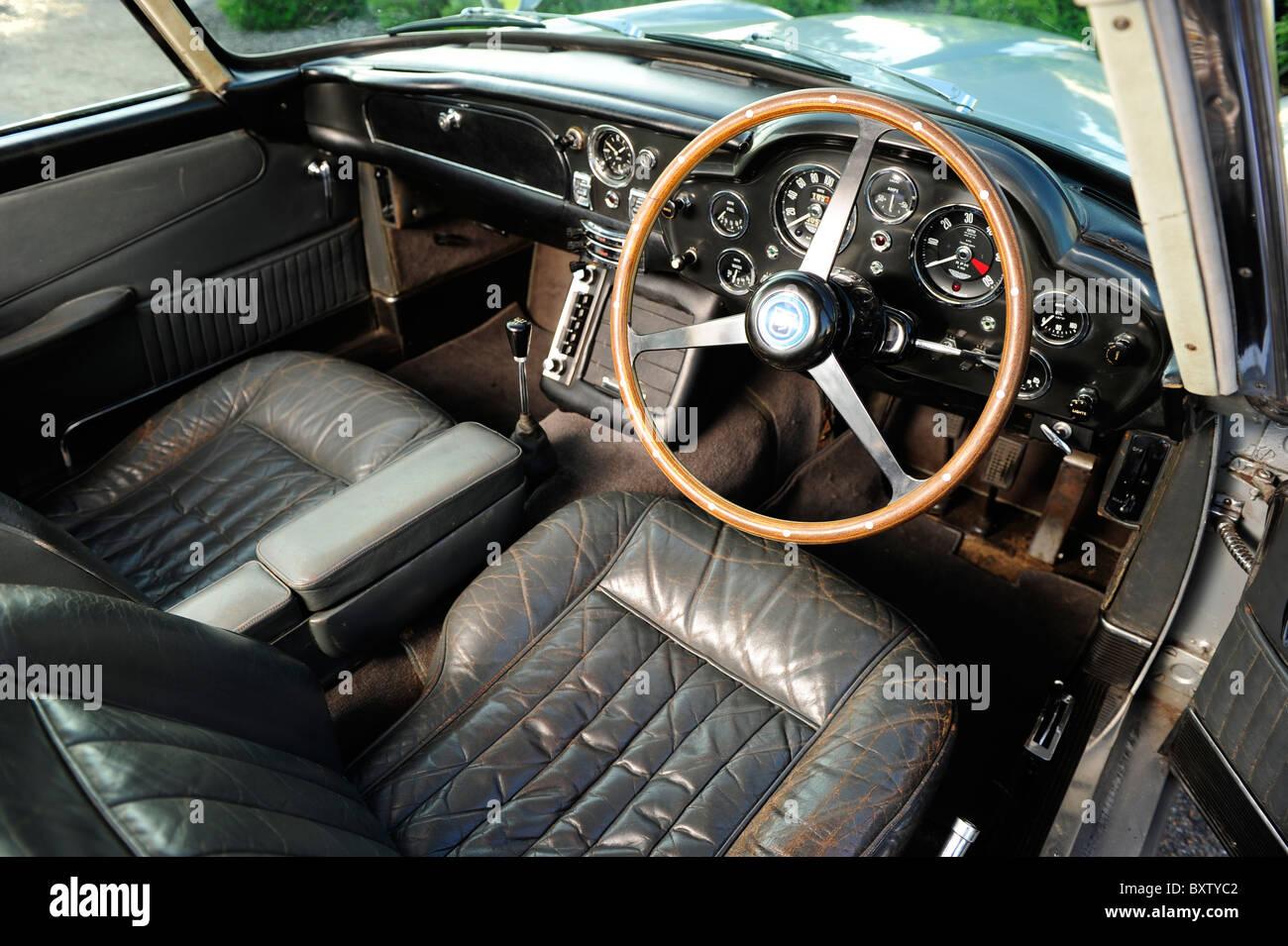 1964 Aston Martin Db5 Goldfinger Sean Connery Stock Photos 1964