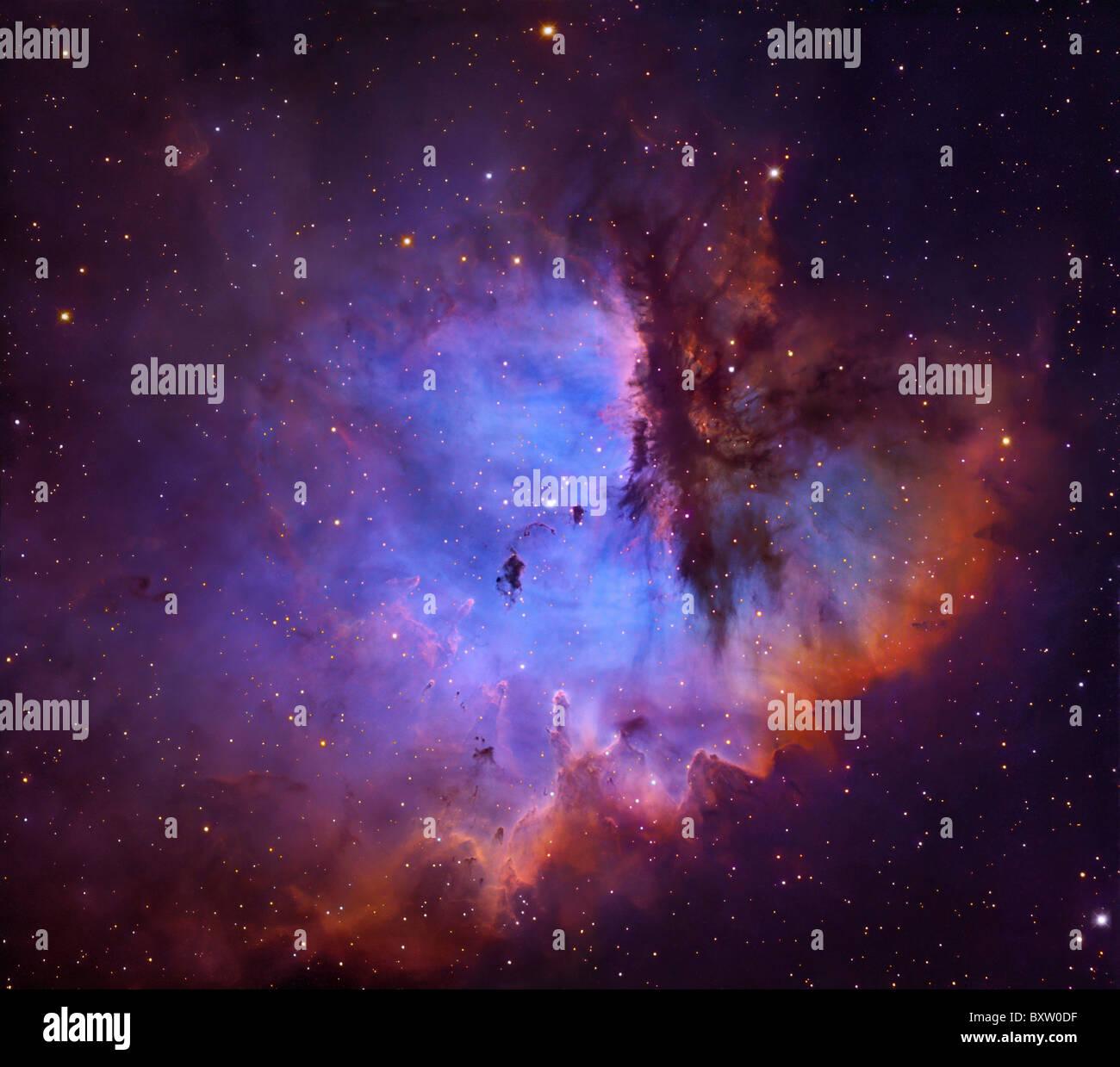 Emission Nebula NGC 281 - Stock Image