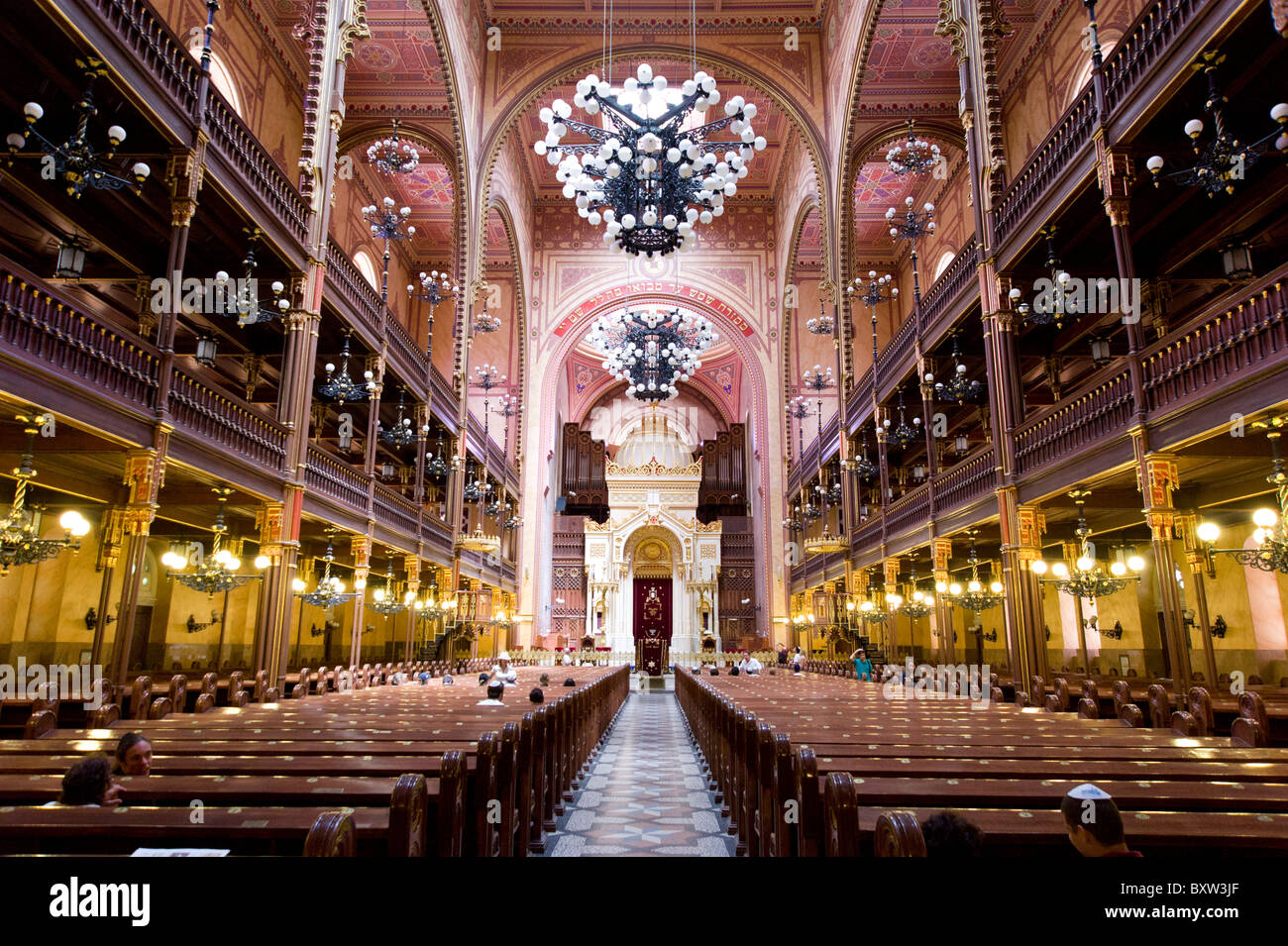 The Great Synagogue, Budapest, Hungary - Stock Image