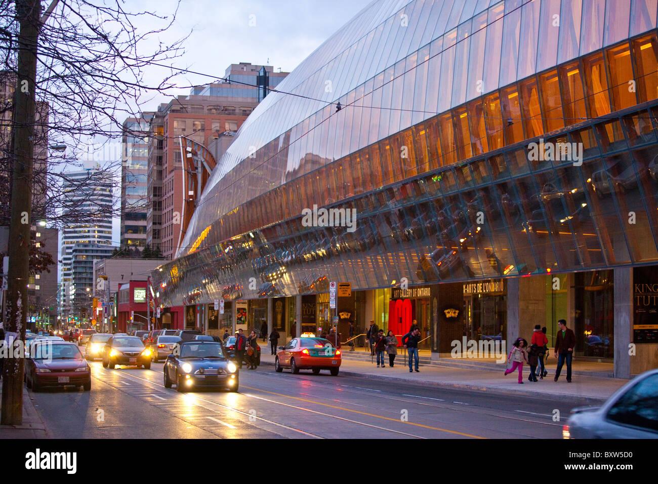 Galería De Arte De Ontario En Toronto: AGO, Art Gallery Of Ontario, Toronto, Canada Stock Photo