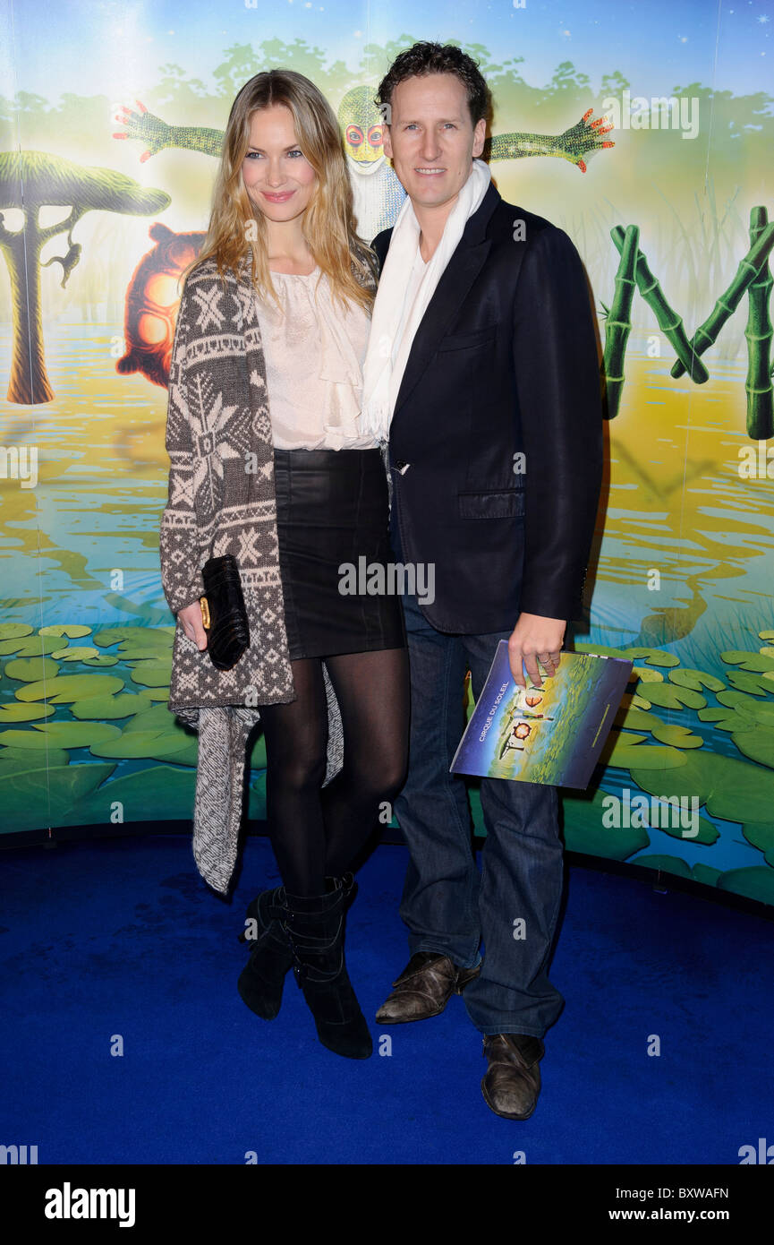 Brendan Cole arrives for the premiere of Cirque Du Soleil's Totem, Royal Albert Hall, London, 5th January 2011. - Stock Image