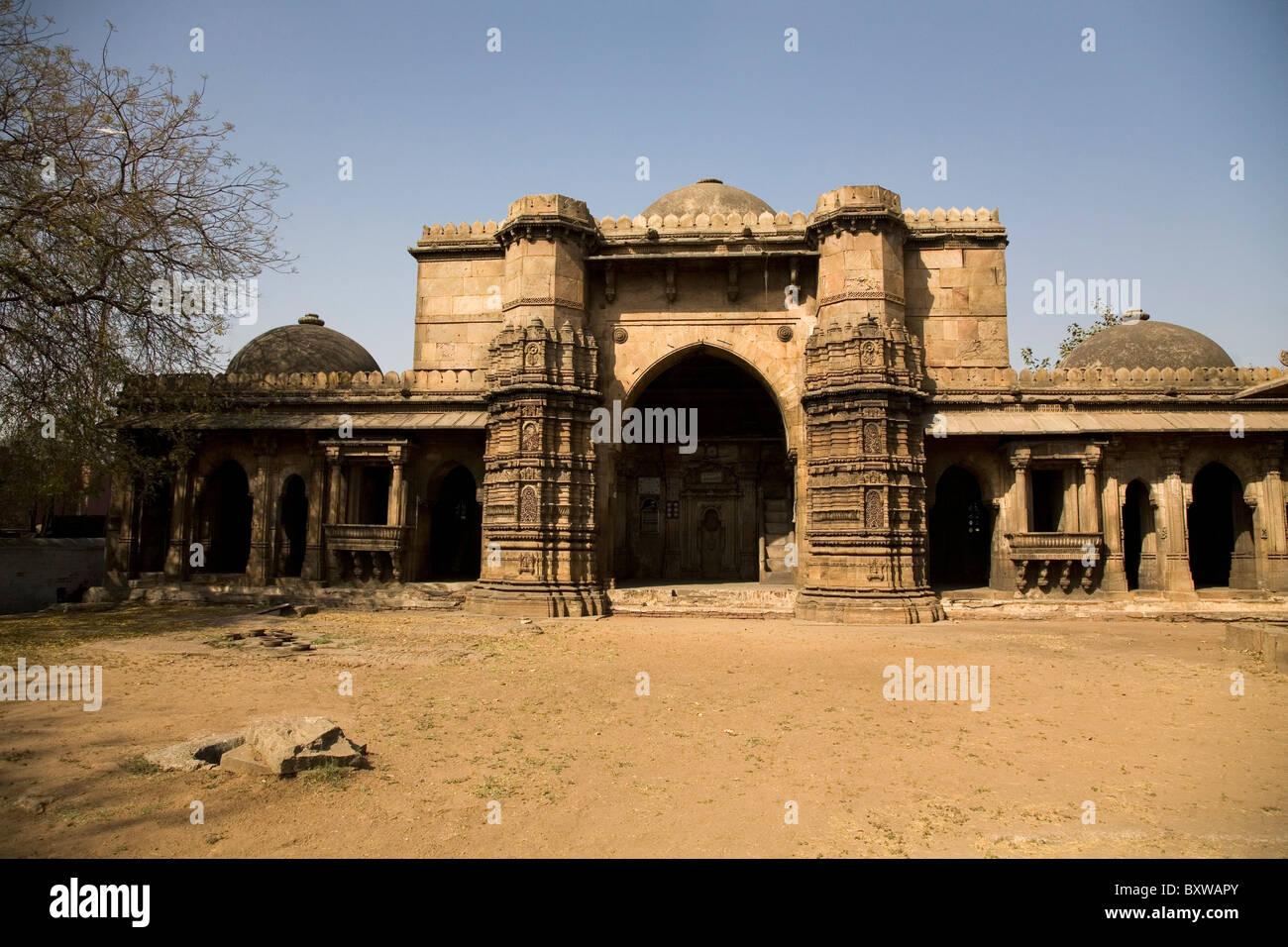 The Bai Harir Mosque at Ahmedabad, Gujarat, India. Stock Photo