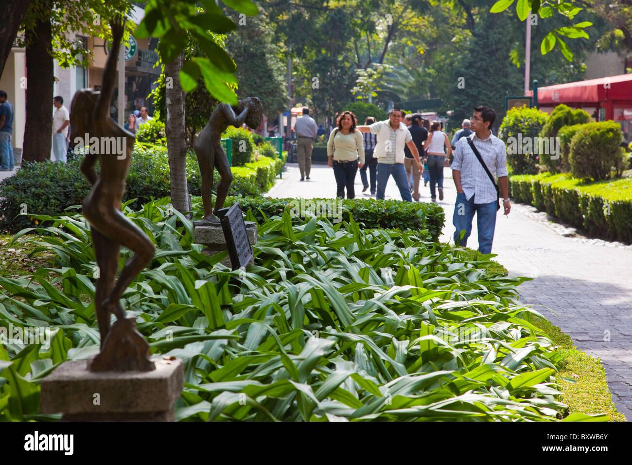 Zona Rosa, Mexico City, Mexico - Stock Image
