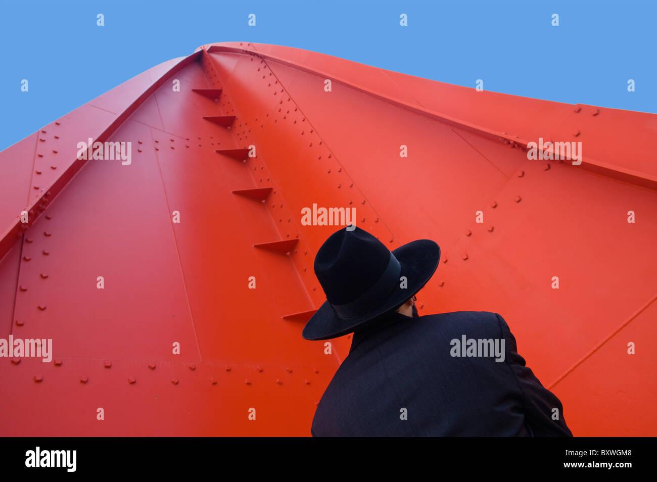 Calder Stabile Jerusalem Israel - Stock Image