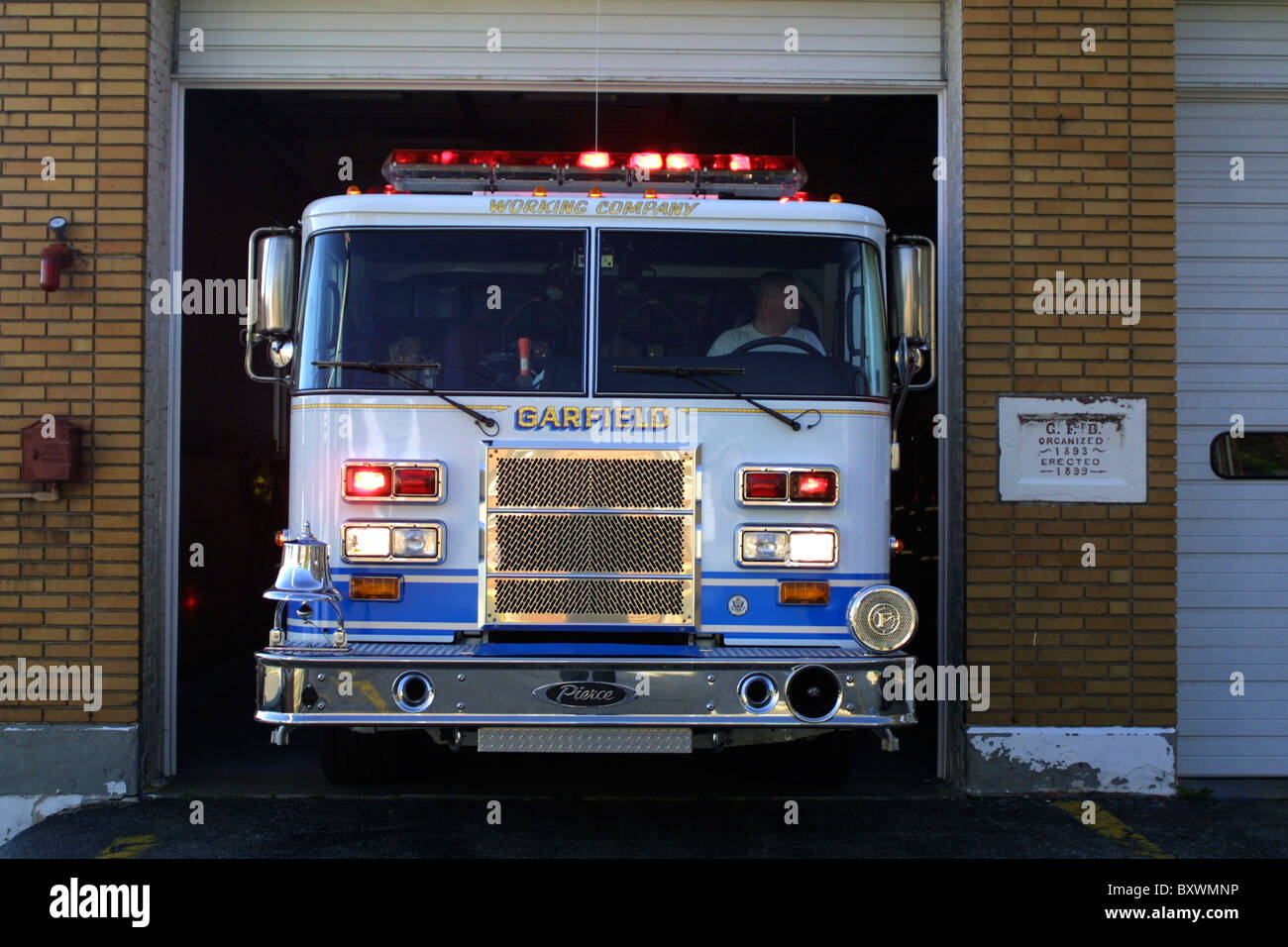 Volunteer Fire Dept High Resolution Stock Photography And Images Alamy