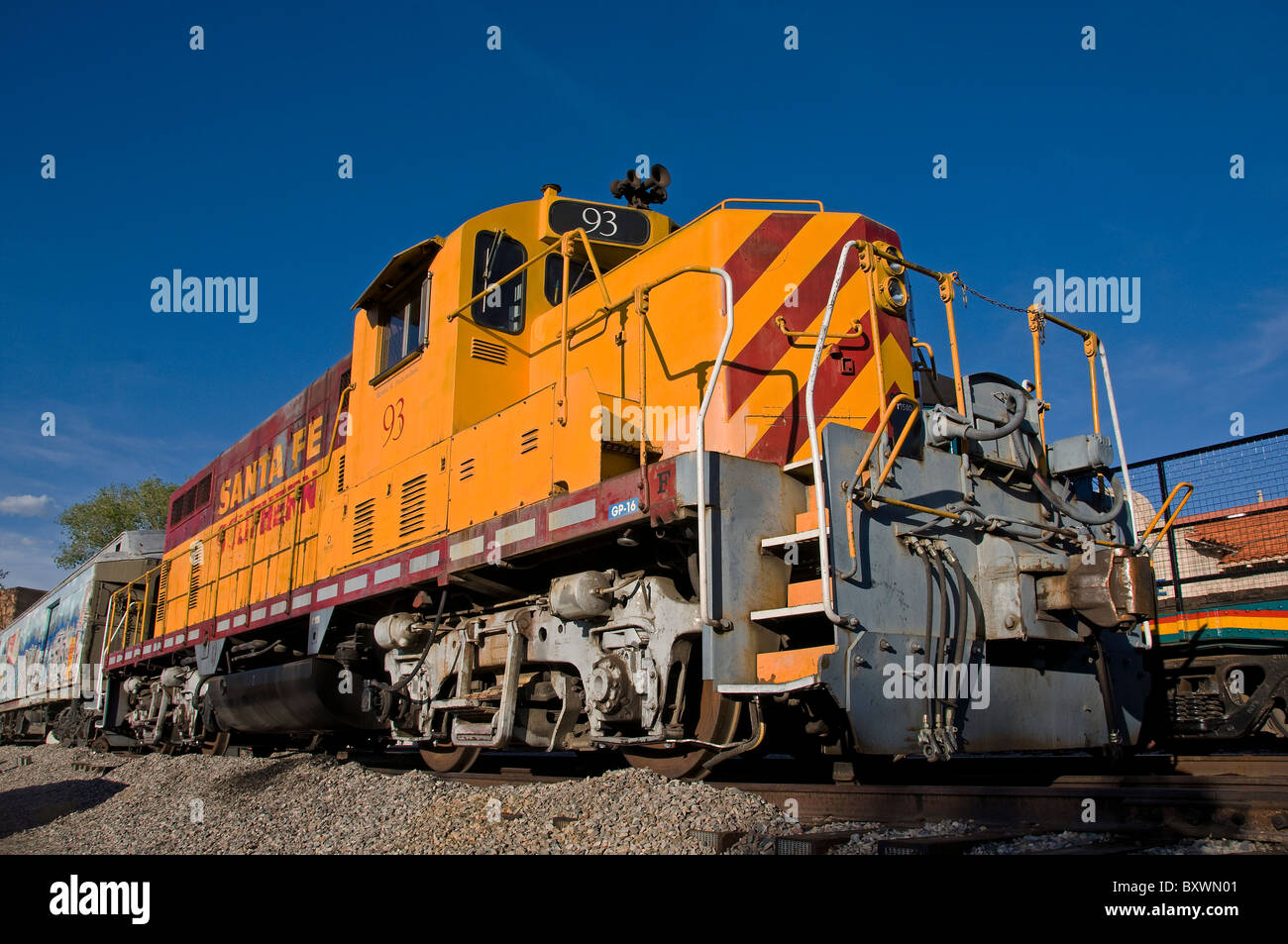 Locomotive engine - Stock Image
