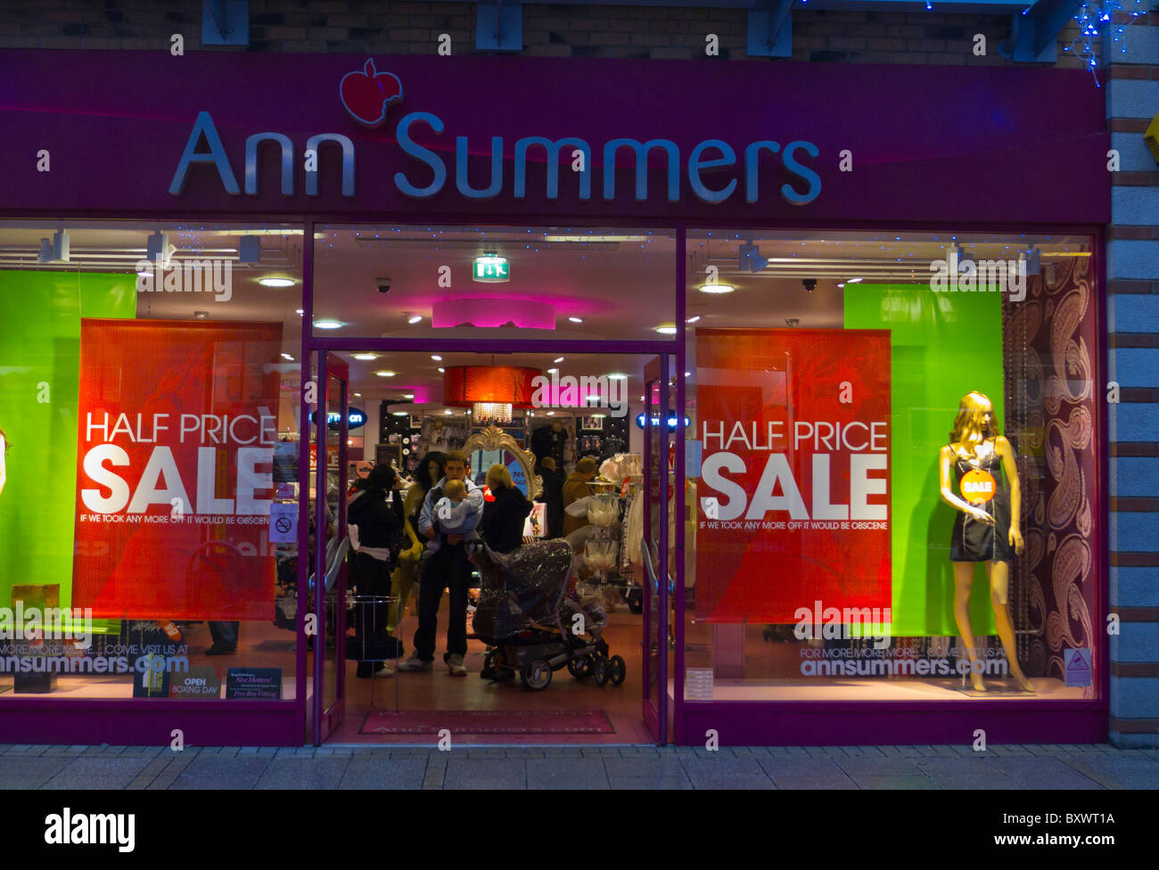 bfdf1d7a6b Ann Summers Shop Stock Photos & Ann Summers Shop Stock Images - Alamy