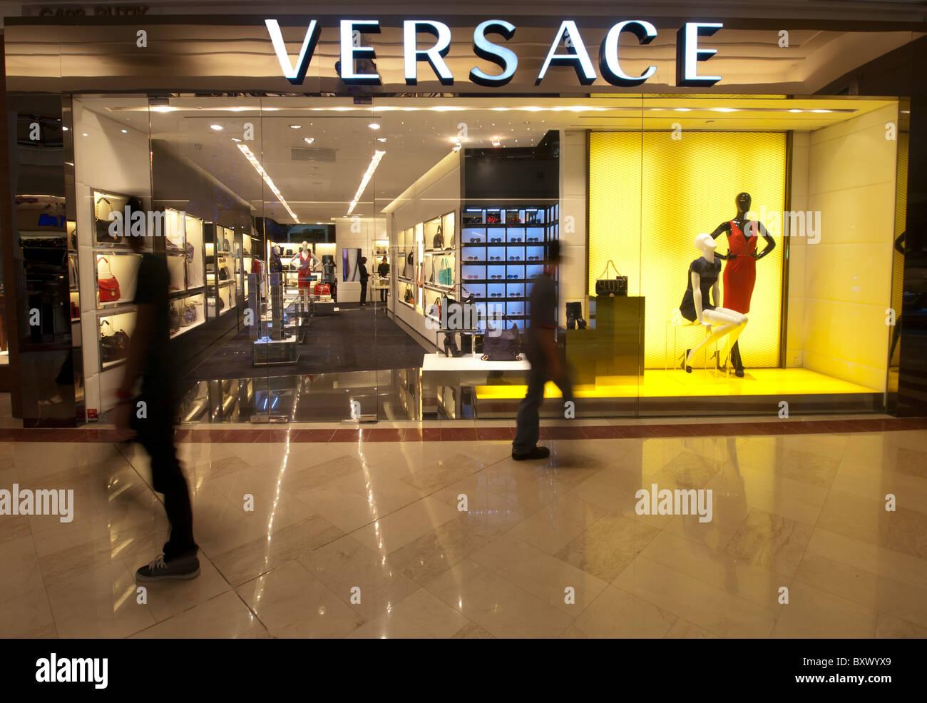 96bf6b2cc3b5 Versace store in Suria KLCC mall in Kuala Lumpur Malaysia - Stock Image