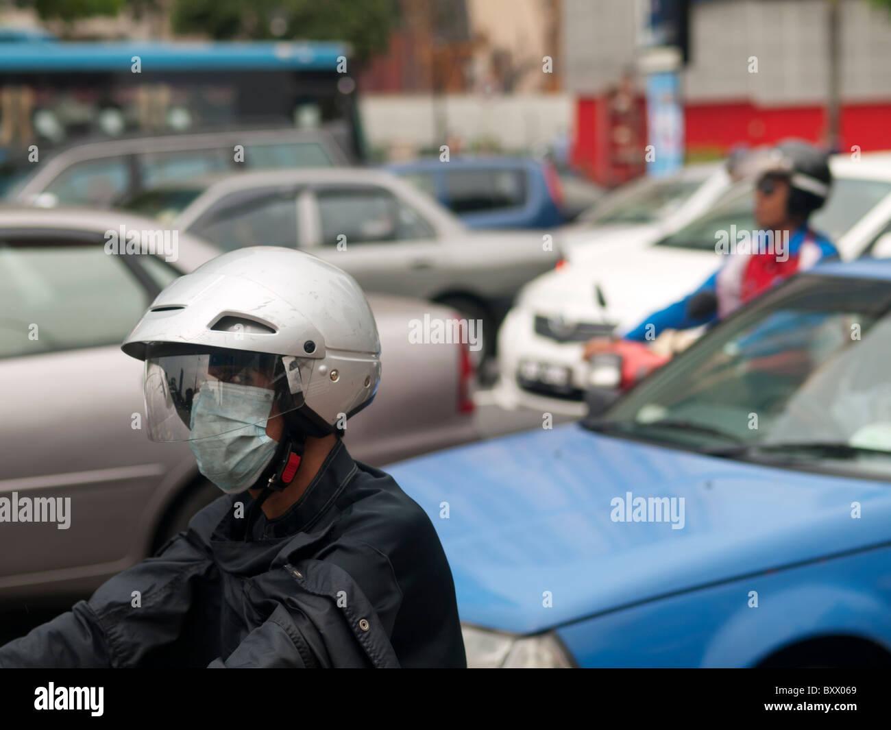 Kuala Lumpur traffic jam - Stock Image