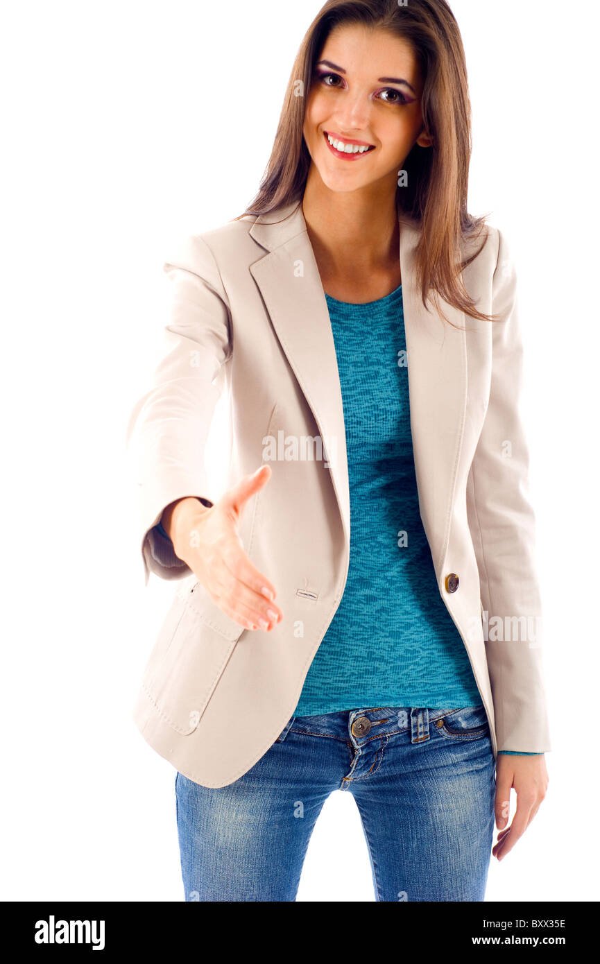 Business Handshake - Stock Image
