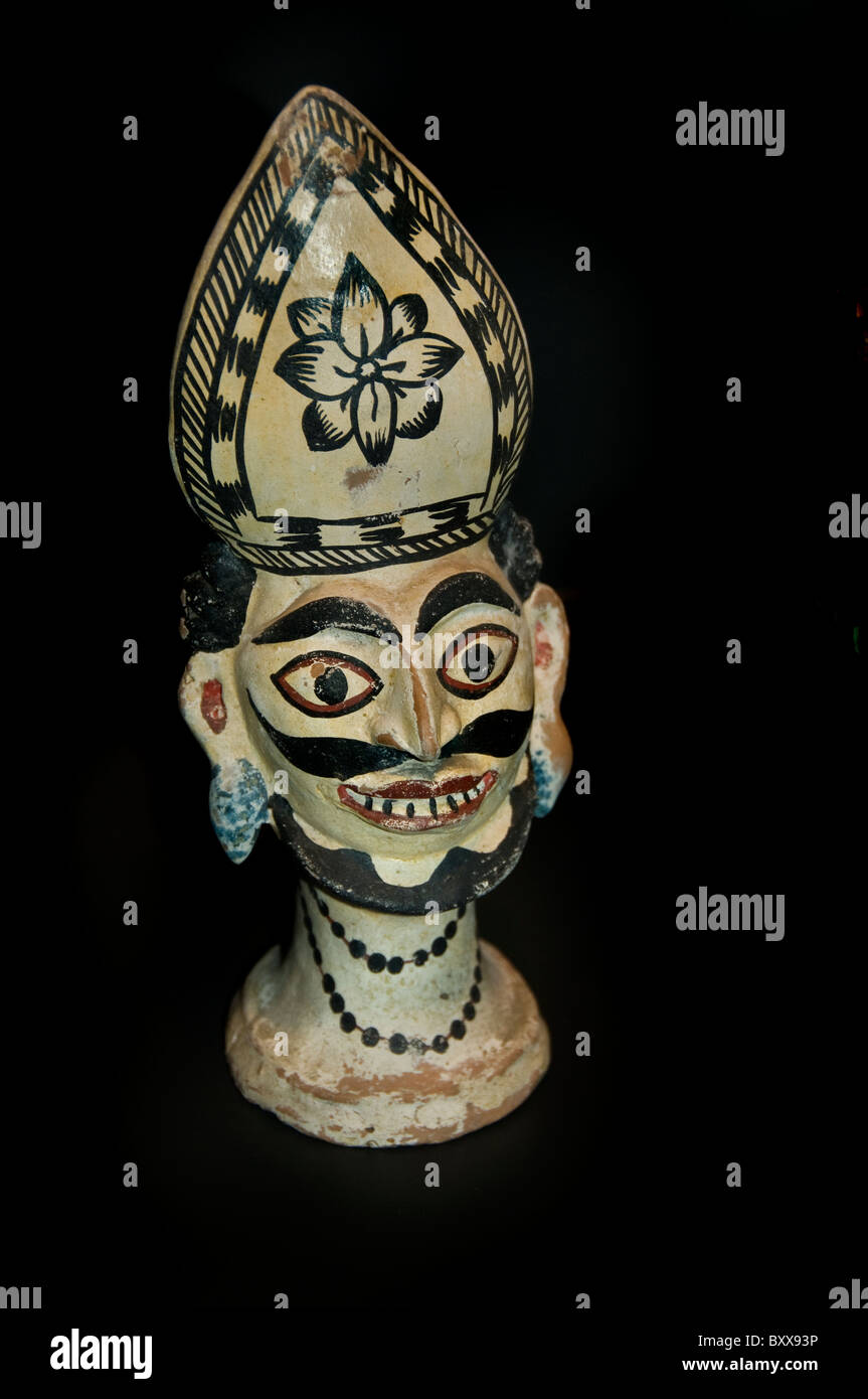 Dorps god Kana Dukinra or Daksin Dar 19th Cent Bangladesh - Stock Image