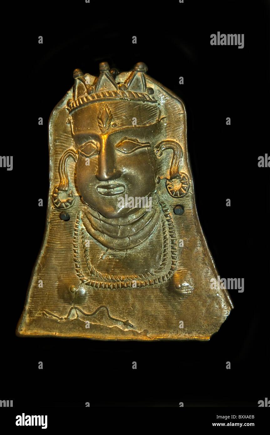 Princess Tamil Nadu India Indian 1750 Museum - Stock Image