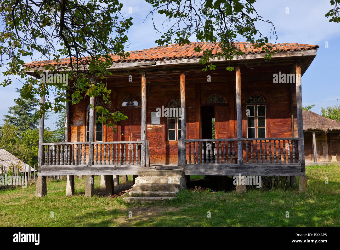 The Giorgi Chitaia Open Air Museum of Ethnography, Tbilisi, Georgia. JMH4093 - Stock Image