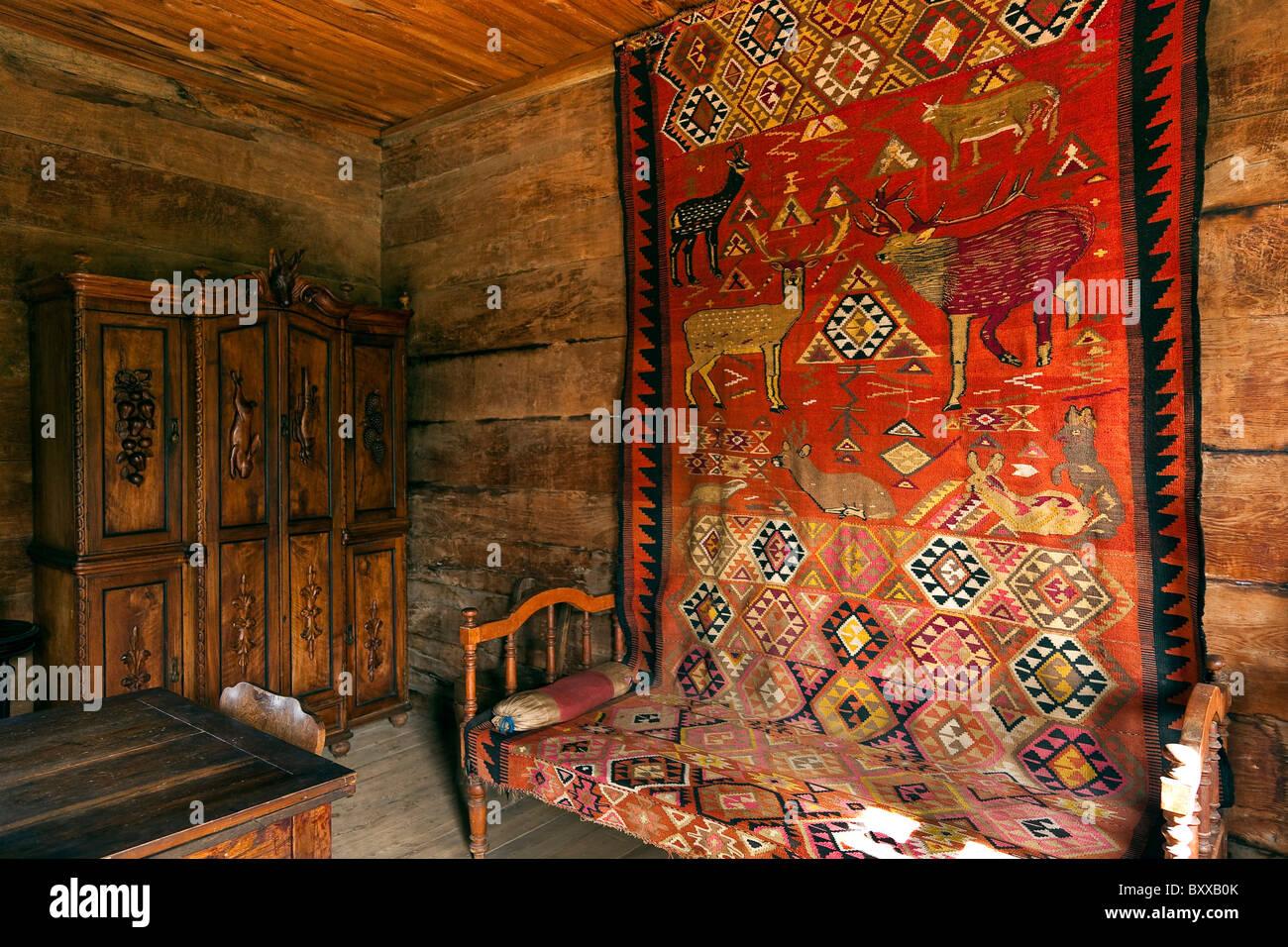 The Giorgi Chitaia Open Air Museum of Ethnography, Tbilisi, Georgia. JMH4097 - Stock Image