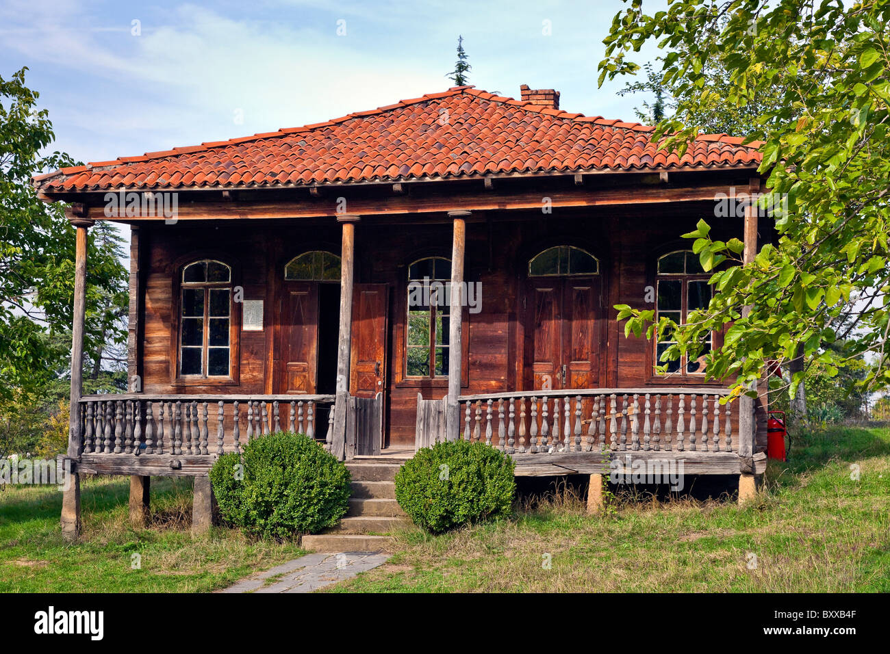 The Giorgi Chitaia Open Air Museum of Ethnography, Tbilisi, Georgia. JMH4099 - Stock Image