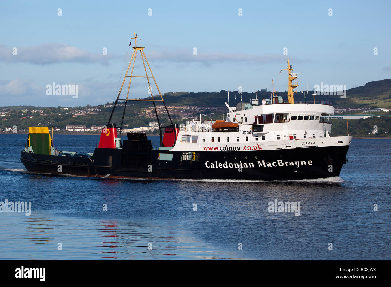 Gourock to Dunoon Cal Mac Ferry - Stock Image