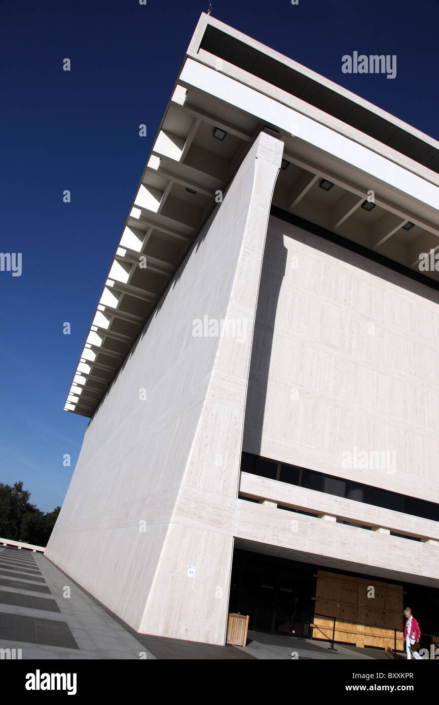 LBJ Library and Museum, Austin Texas Stock Photo