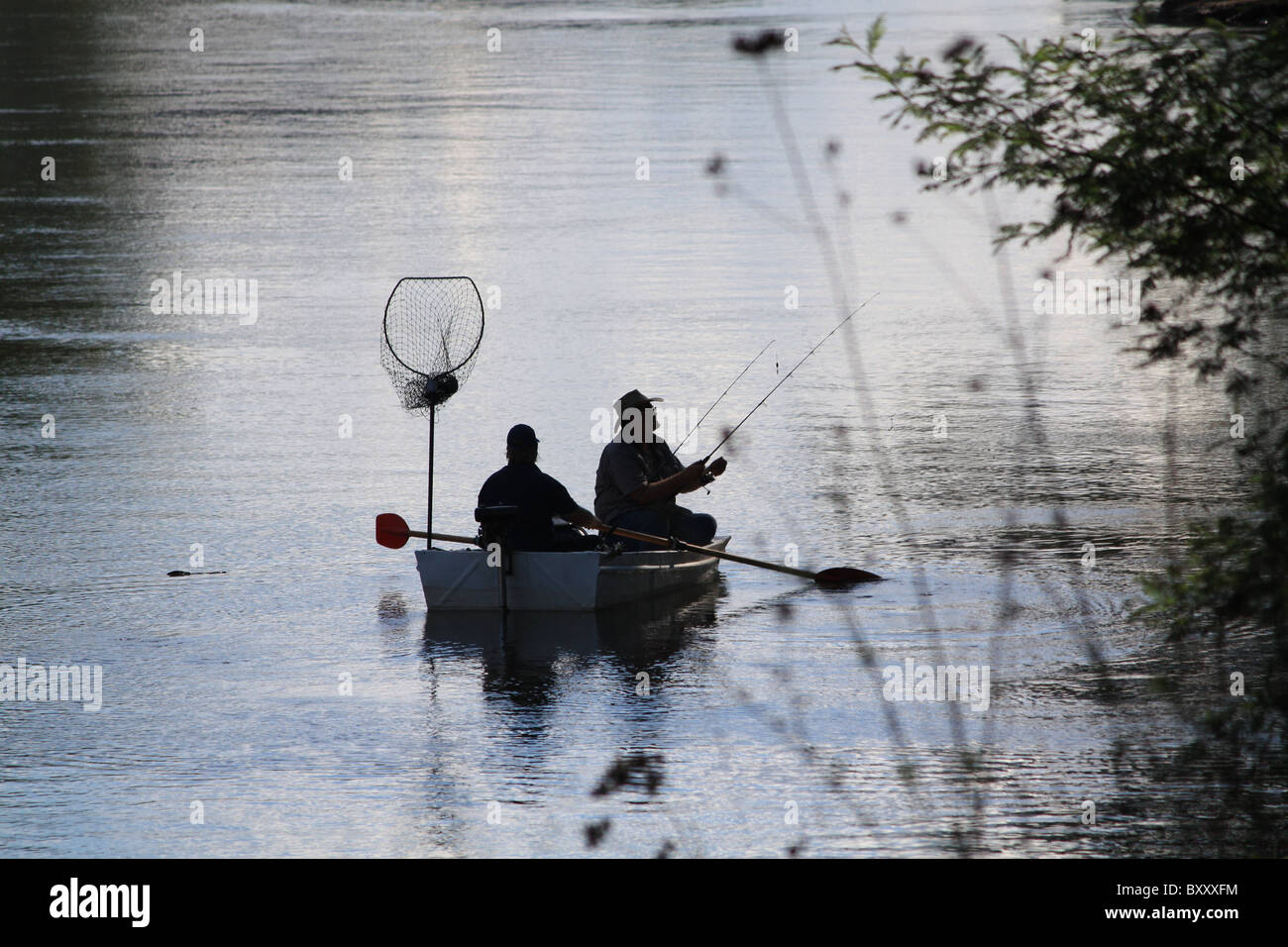 Fishing Mates - Stock Image