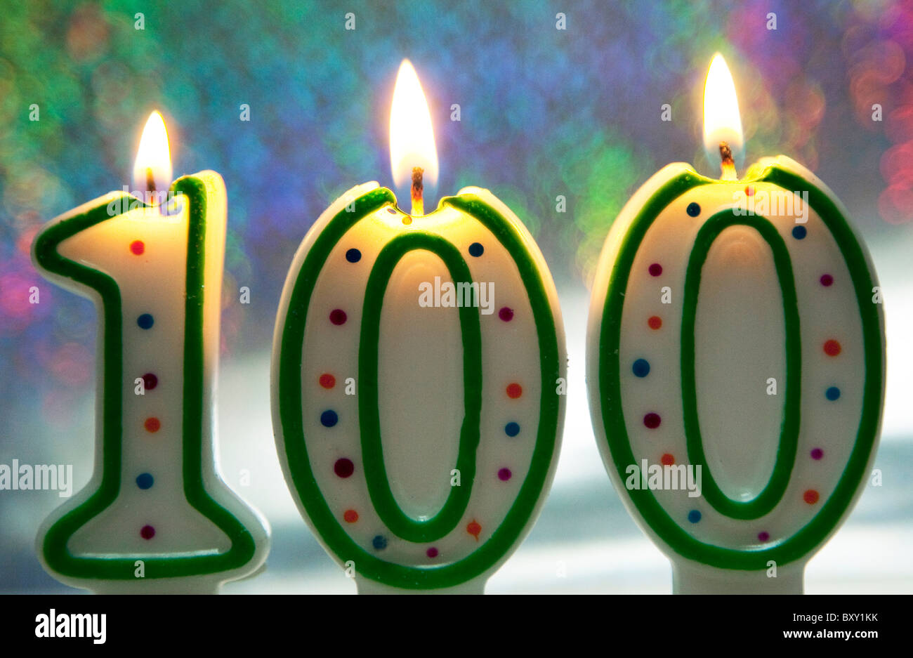 Longevity: many people alive today will live to be 100 years old - Stock Image