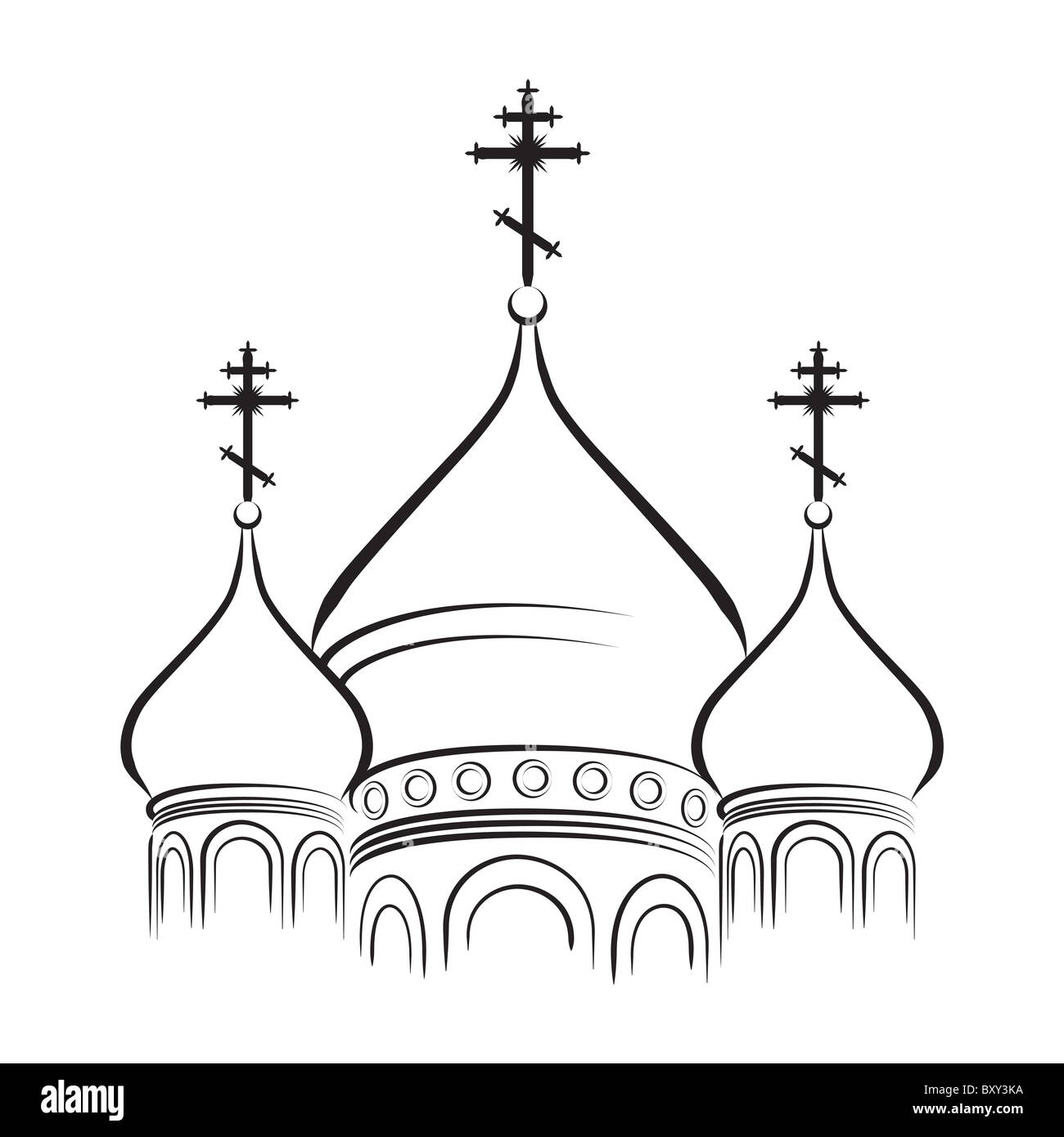 The Cathedral Cupola - Stock Image