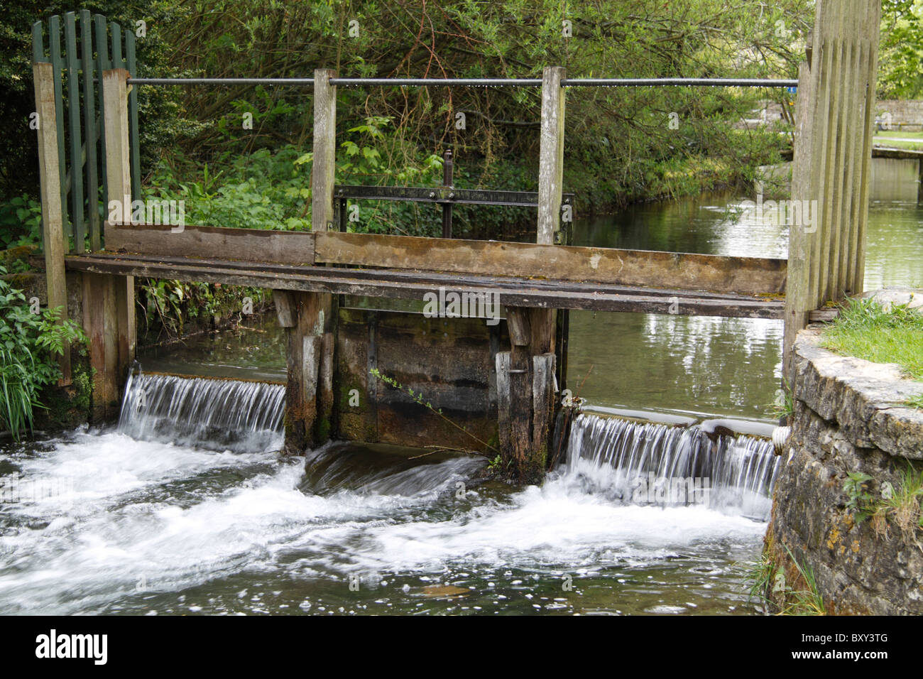 Sluice Gate - Stock Image