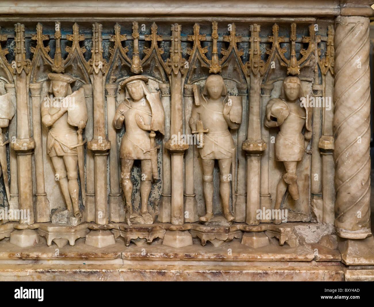 St Mary, Aldermaston, Forster tomb - Stock Image