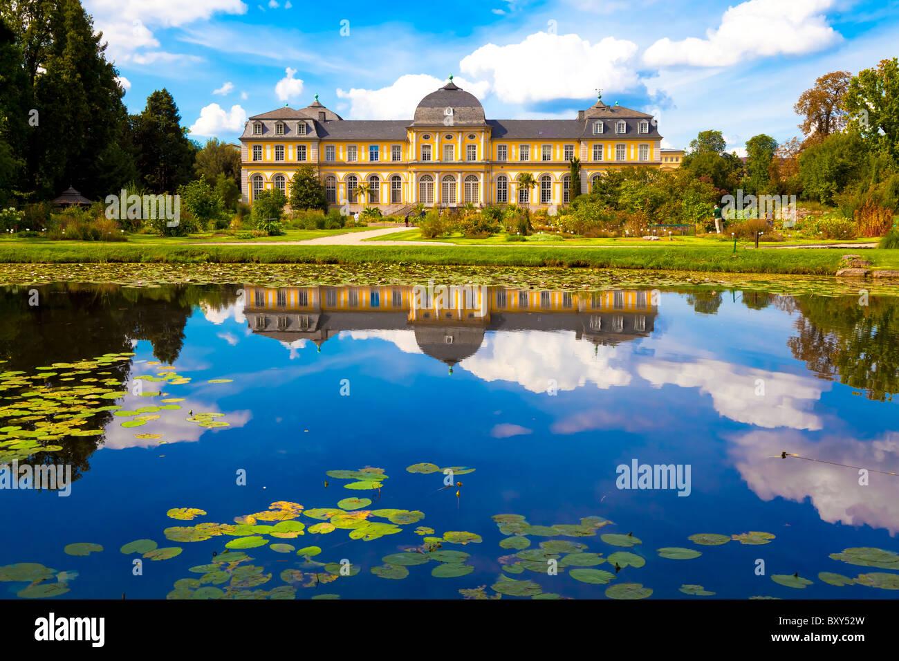 Poppelsdorfer Schloss in Bonn - Stock Image