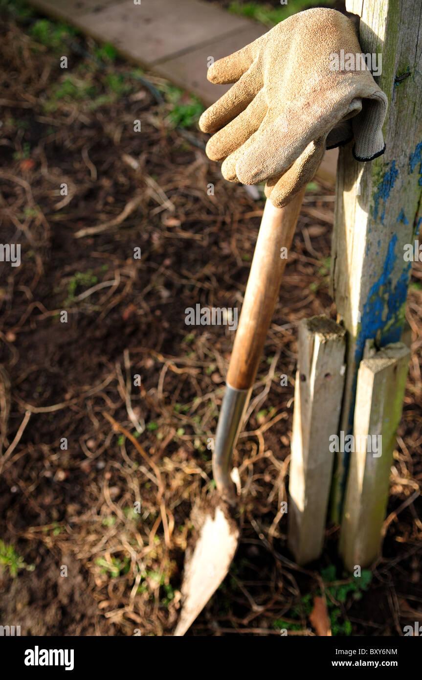 Dirty Garden Gloves Stock Photos & Dirty Garden Gloves Stock Images ...