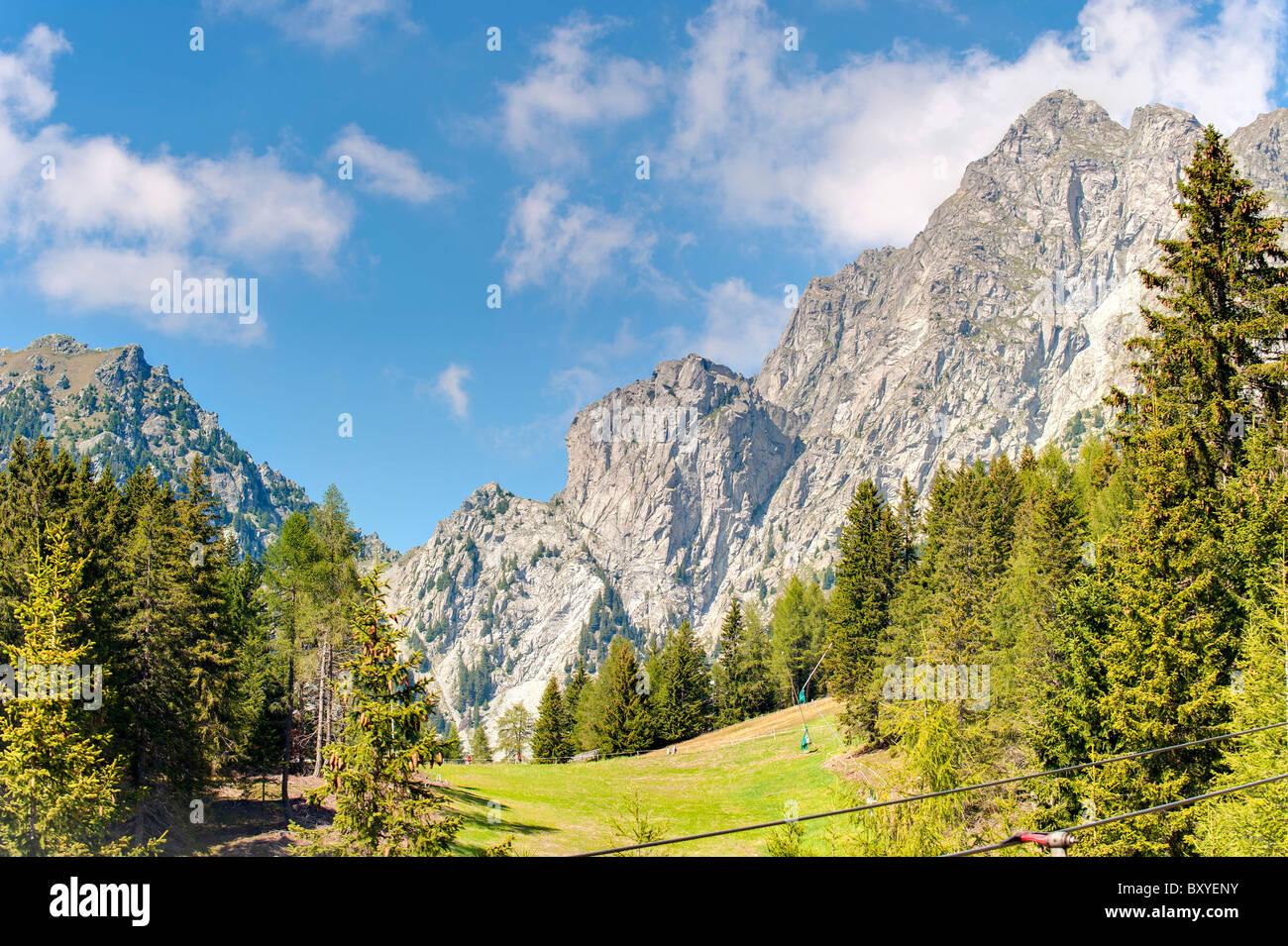 Merano 2000 Trentino Alto Adige South Tyrol Italy - Stock Image