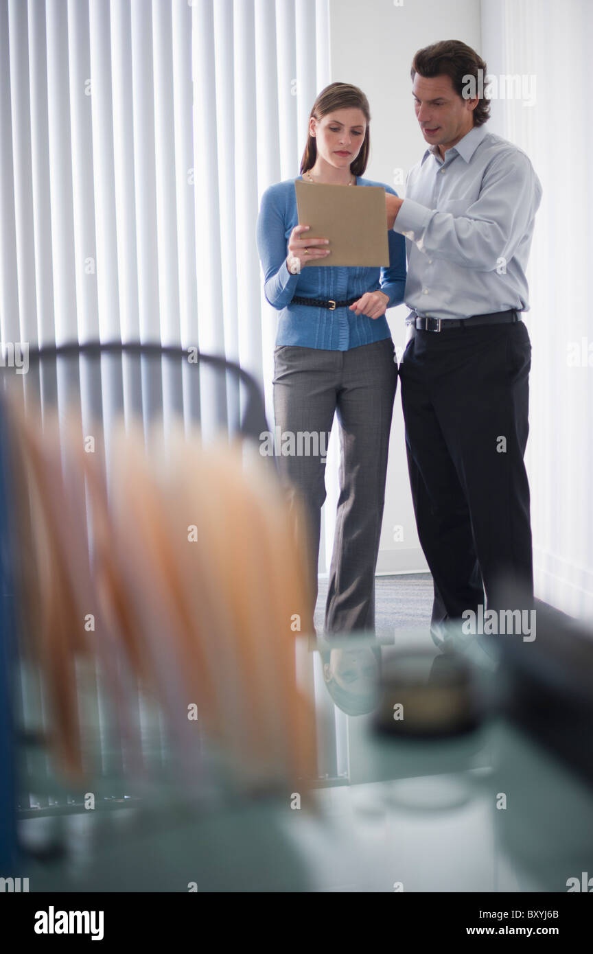 Office workers - Stock Image