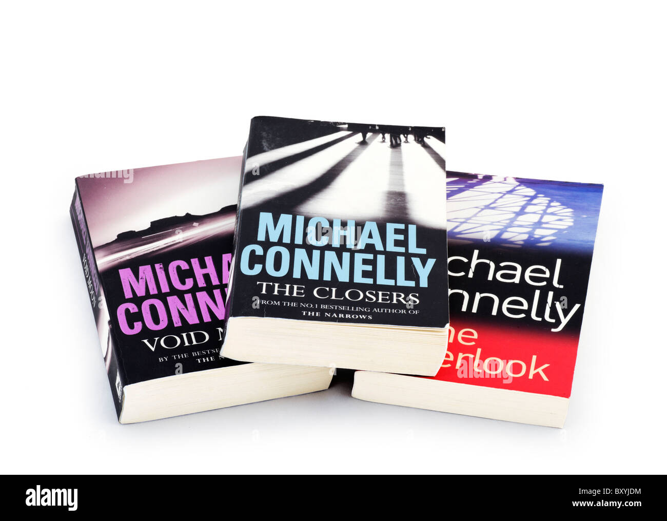 Best selling paperback books by Michael Connelly, UK - Stock Image