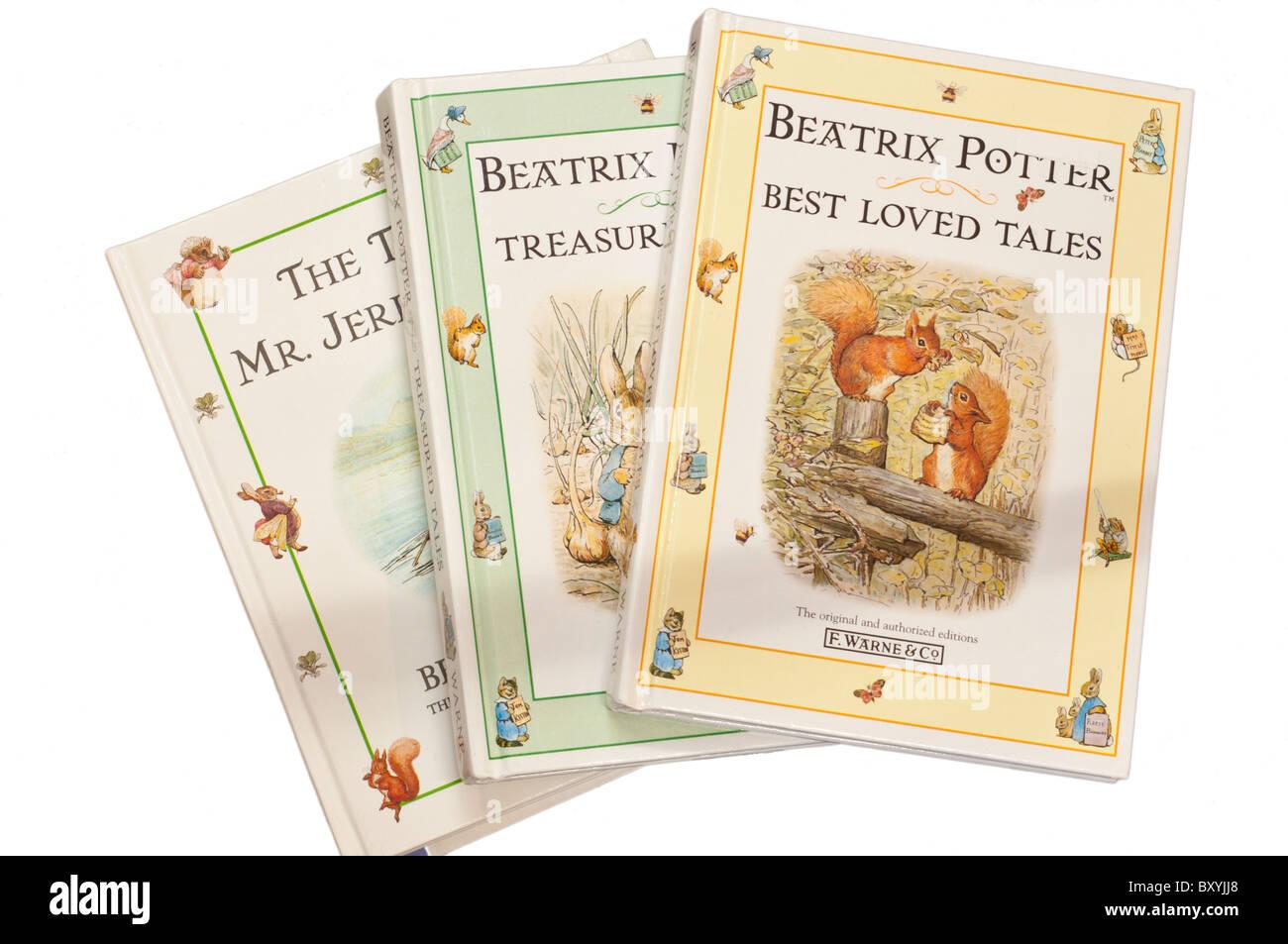 Beatrix Potter Childrens Books - Stock Image