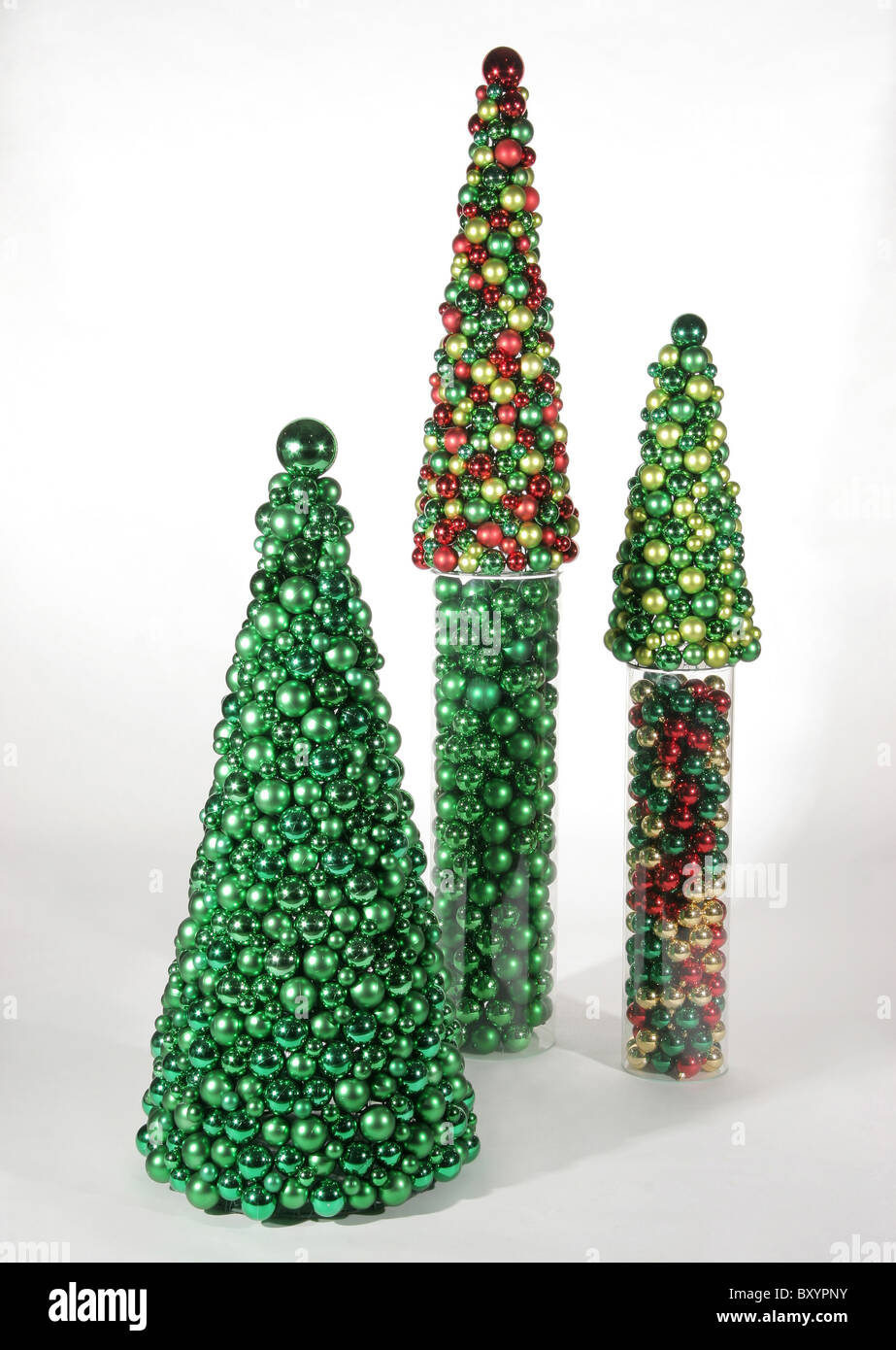 Multicolored Christmas Trees Stock Photos & Multicolored Christmas ...