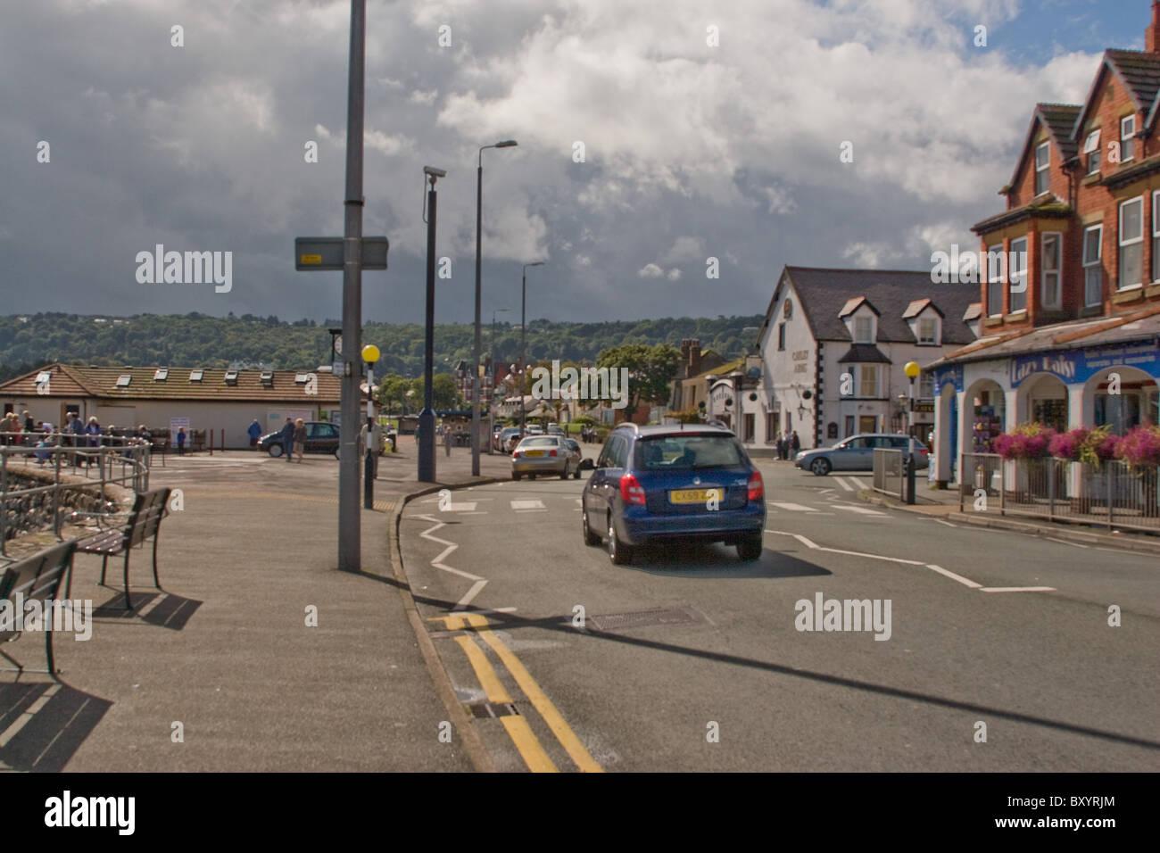 Rhos-on-Sea north Wales - Stock Image