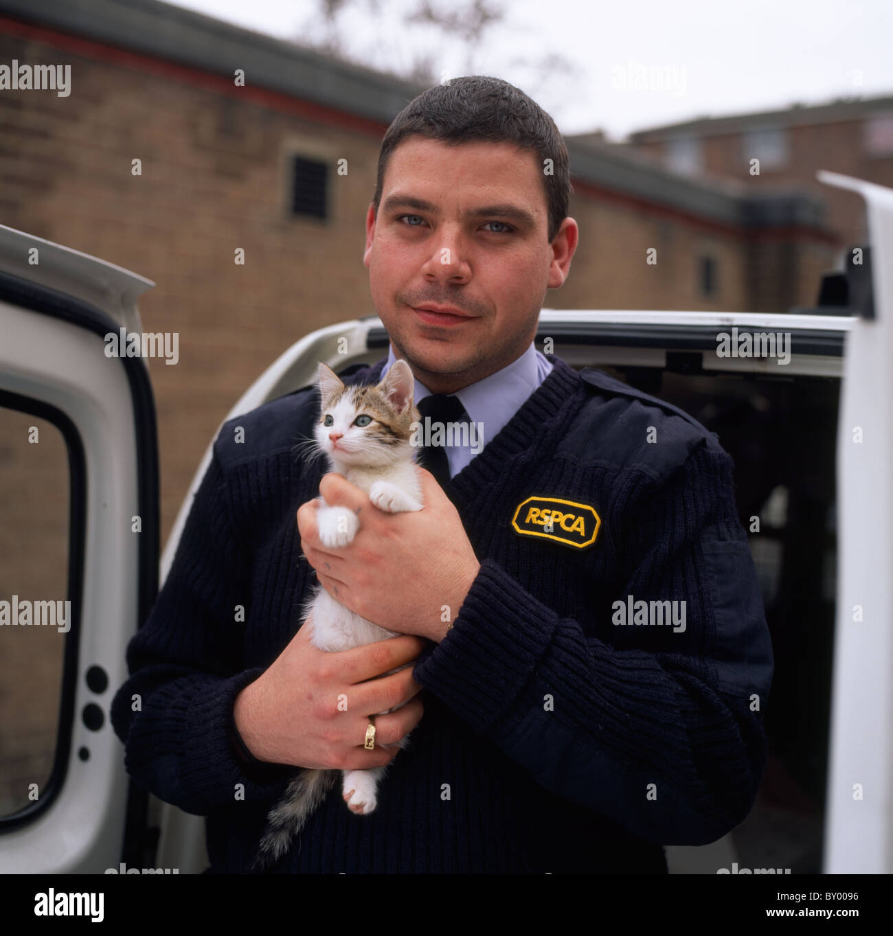 RSPCA in England in Great Britain in the United Kingdom UK. Animal Work Care Royal Society For the Protection Of - Stock Image