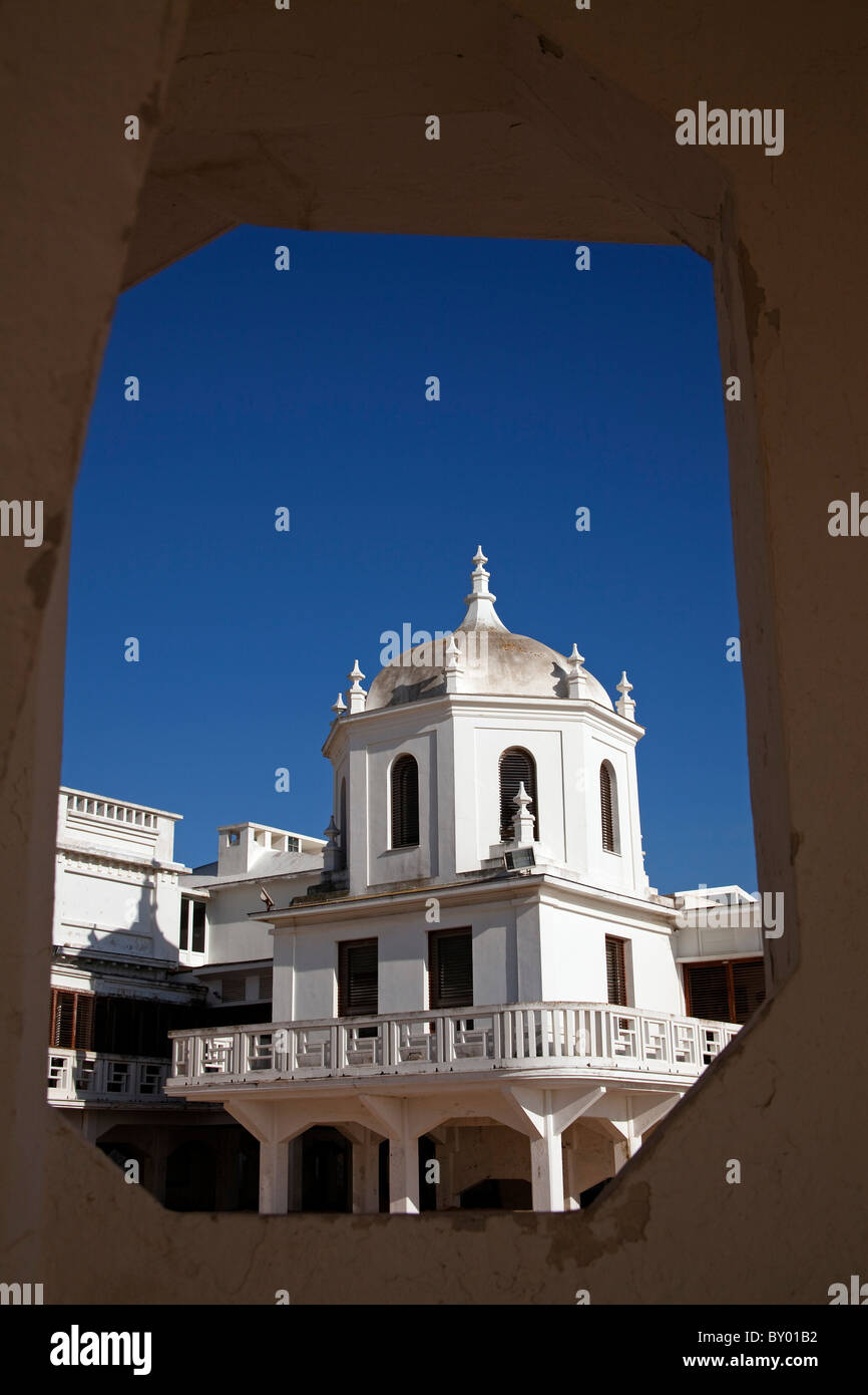 Balneario de Nuestra Señora de la Palma Playa de la Caleta Cádiz Andalucía España Andalusia - Stock Image