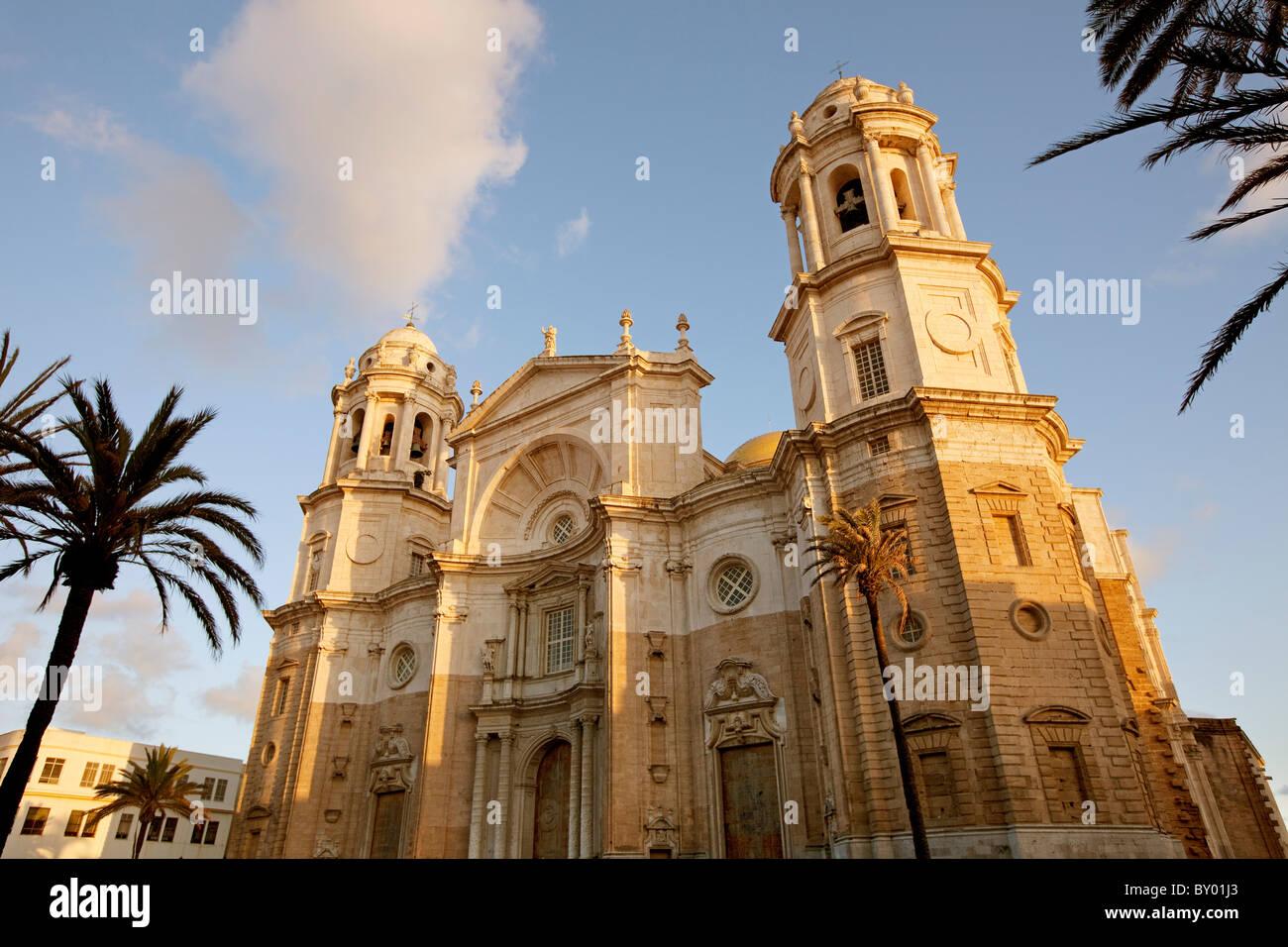 Catedral Cádiz Andalucía España Cadiz Andalusia Spain cathedral - Stock Image