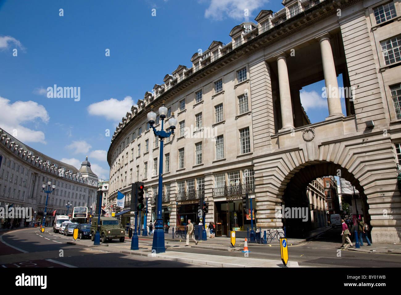 Regents Street Stock Photo