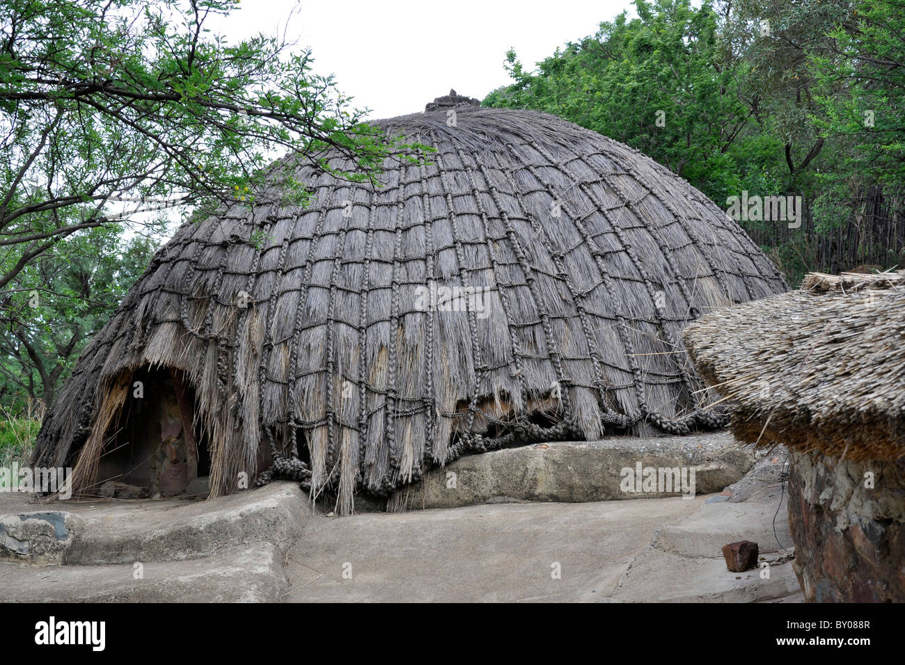 Credo Mutwa Cultural Village, Soweto, Johannesburg, South Africa Stock Photo