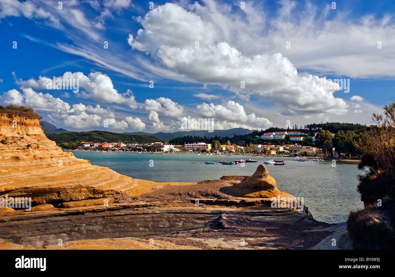 Sidari Corfu, Ionian Islands Greece. - Stock Image