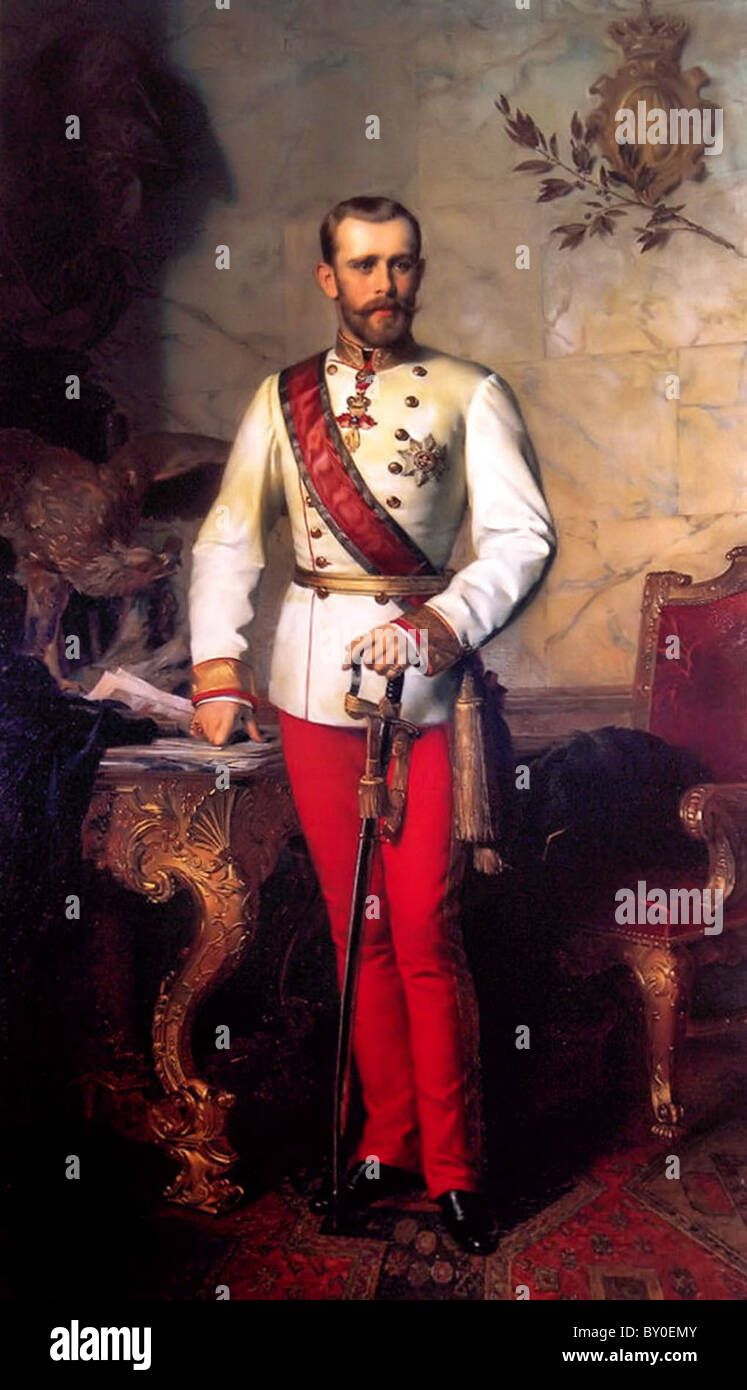 Rudolf, Crown Prince of Austria, Prince Rudolf - Stock Image