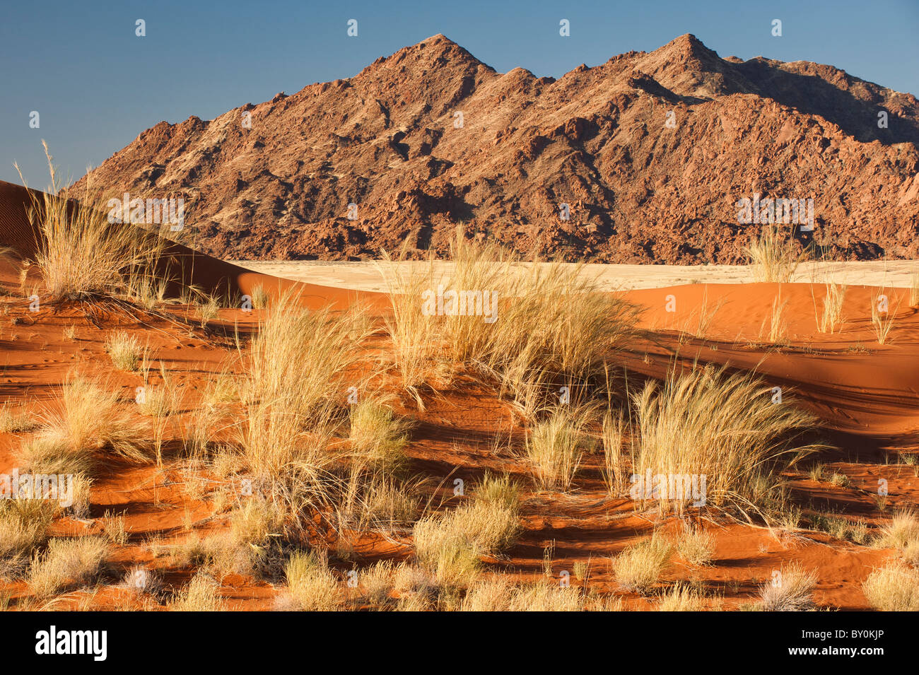 Naukluft Mountains (Naukluftberge) in central Namibia. - Stock Image