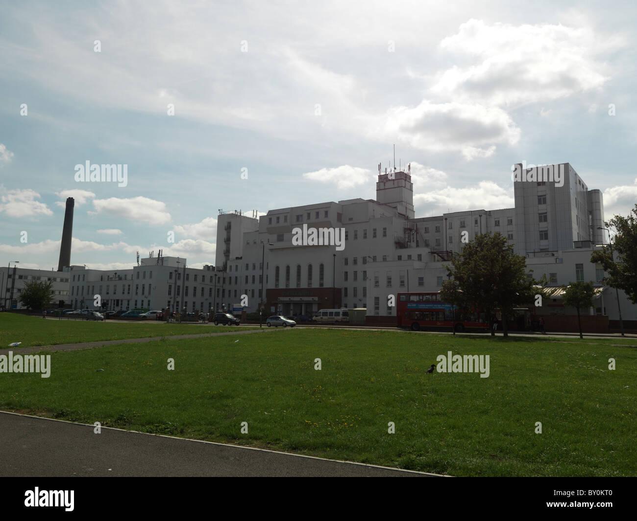 Carshalton Surrey England St Helier Hospital - Stock Image