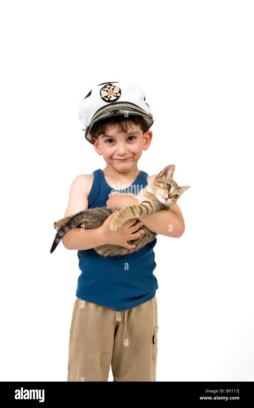 Sea Captain Hat Stock Photos & Sea Captain Hat Stock Images