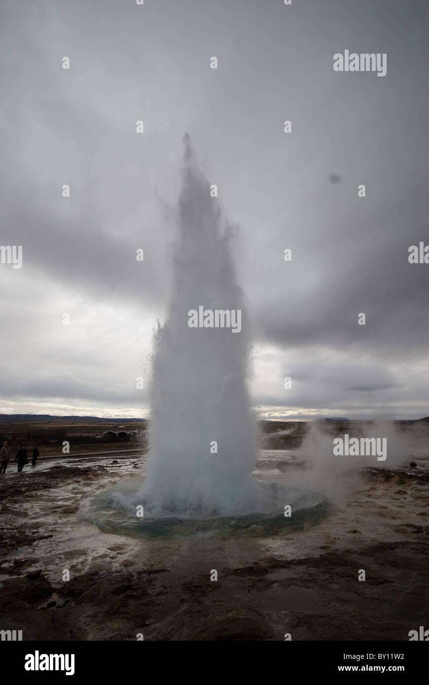 Geysir, Iceland - Stock Image